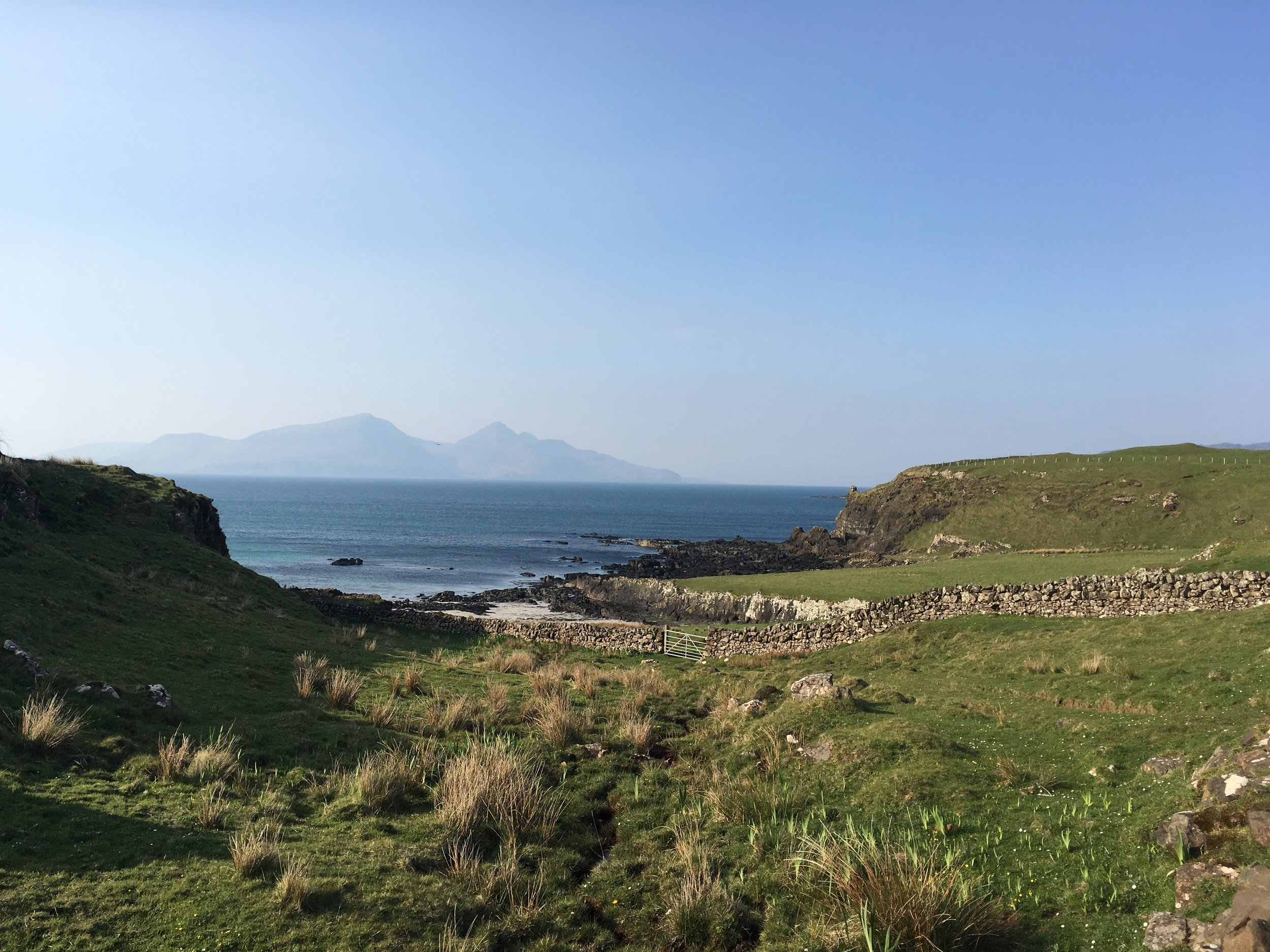 Exploring the Island of Muck