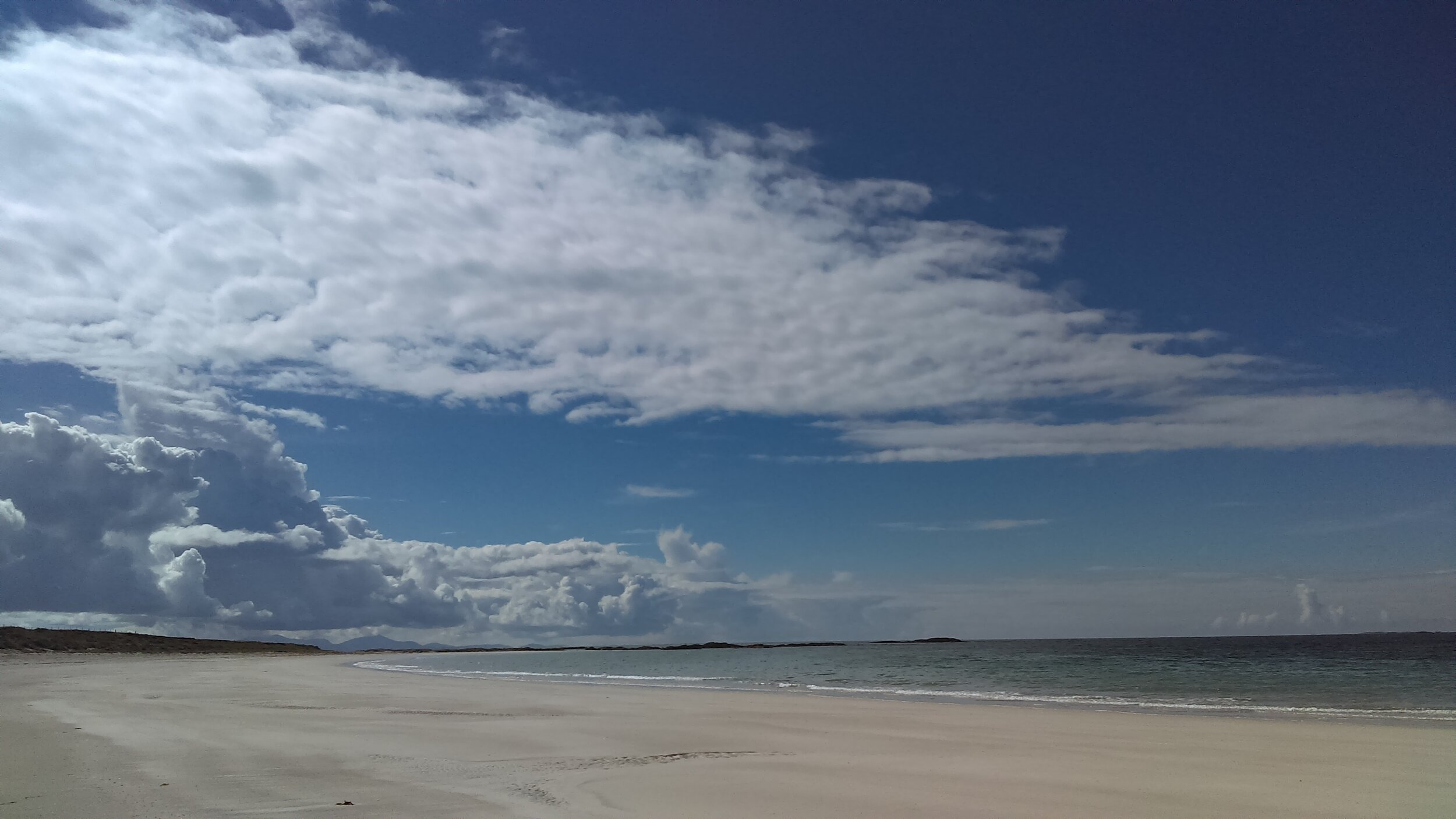 Balranald beach looking glorious in better weather