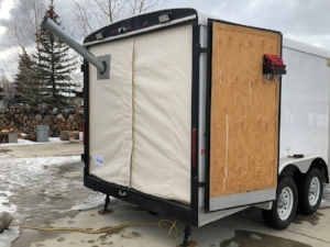 Cargo Trailer Wood Stove Conversion Kit