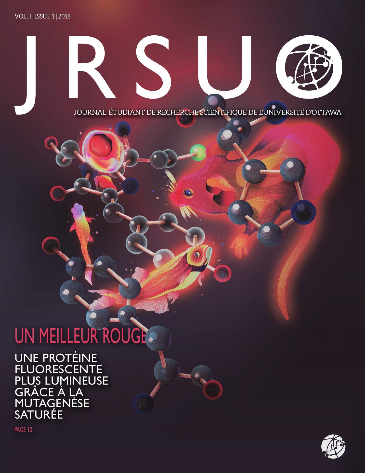 Introduisant Notre Premier Numéro de Publication. - Le JRSUO est heureux de présenter notre premier numéro inaugural créé par les étudiants de l'Université d'Ottawa. Approfondissez votre compréhension de nombreux sujets liés aux sciences et à l'ingénierie grâce aux analyses de vos pairs et aux recherches originales menées aujourd'hui!