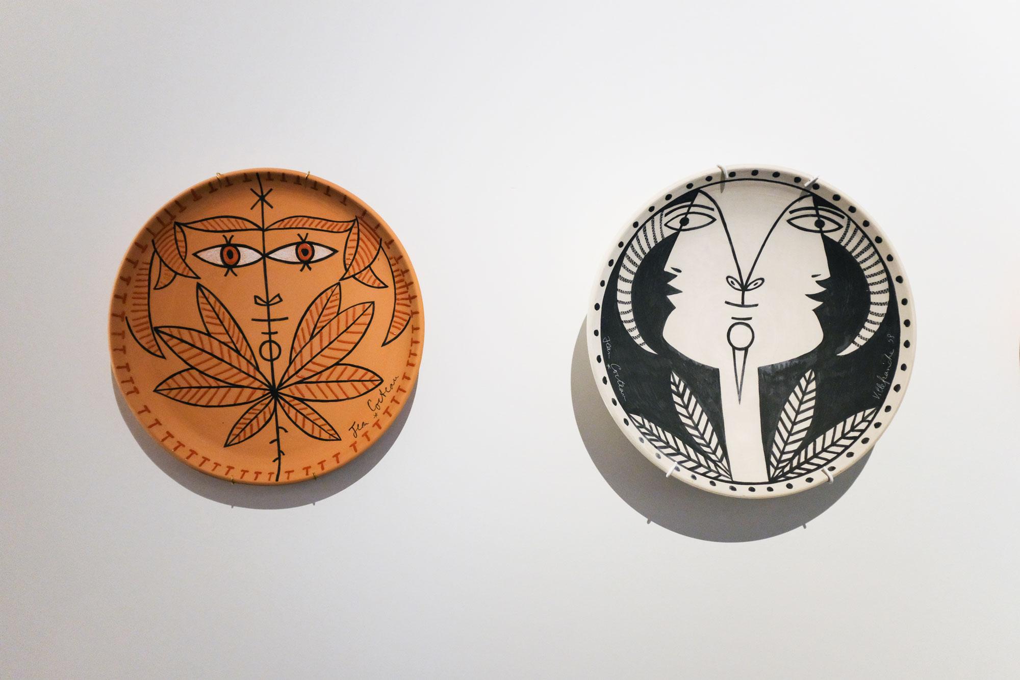 Jean Cocteau ceramics