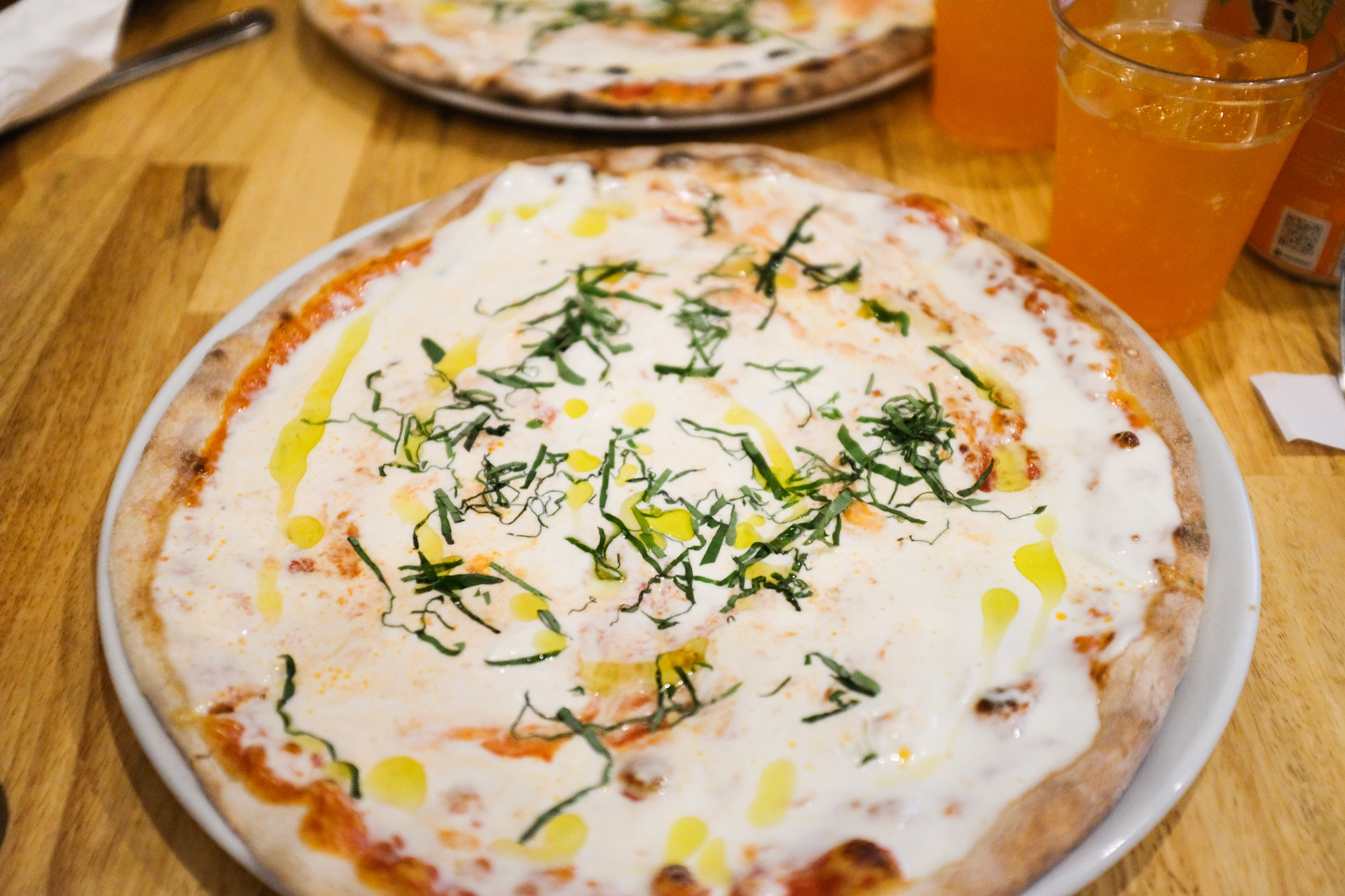 This might be my favorite pizza. Sorry NYC but this one wins. I didn't know about  Mister 01  until I moved back from NYC and worked in Brickell. The first pizza I tried from them was the Star Luca and it was good. But this truffle oil and burrata concoction really did it for me.