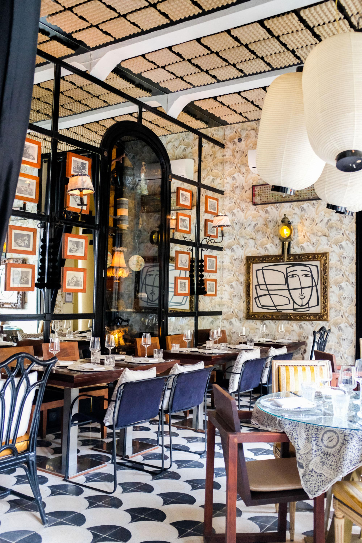 A new hidden restaurant/hotel called Doña Lola. Egg cartons on the ceiling!