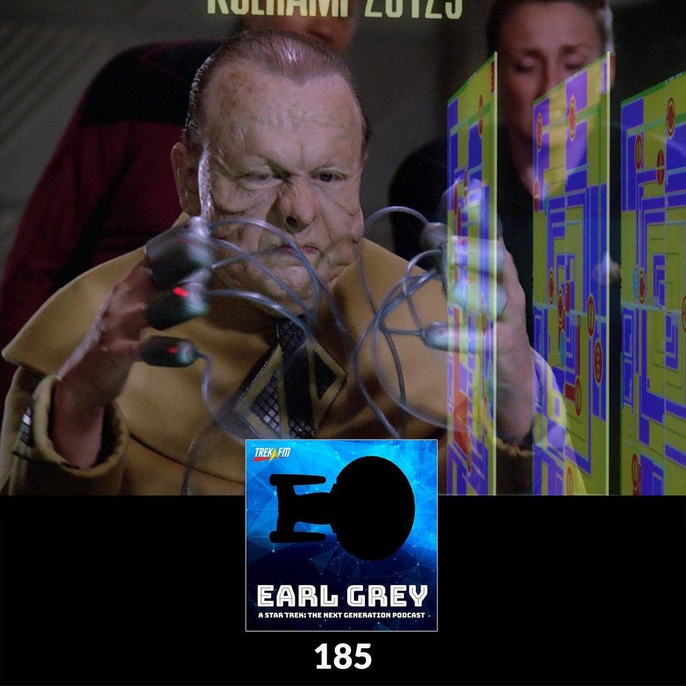 Earl Grey 185: Grandmaster of Space Invaders