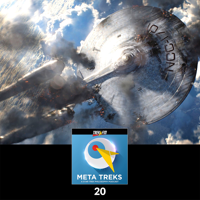 Meta Treks 20: Bay of Targs - Preemtive War and Star Trek Into Darkness.