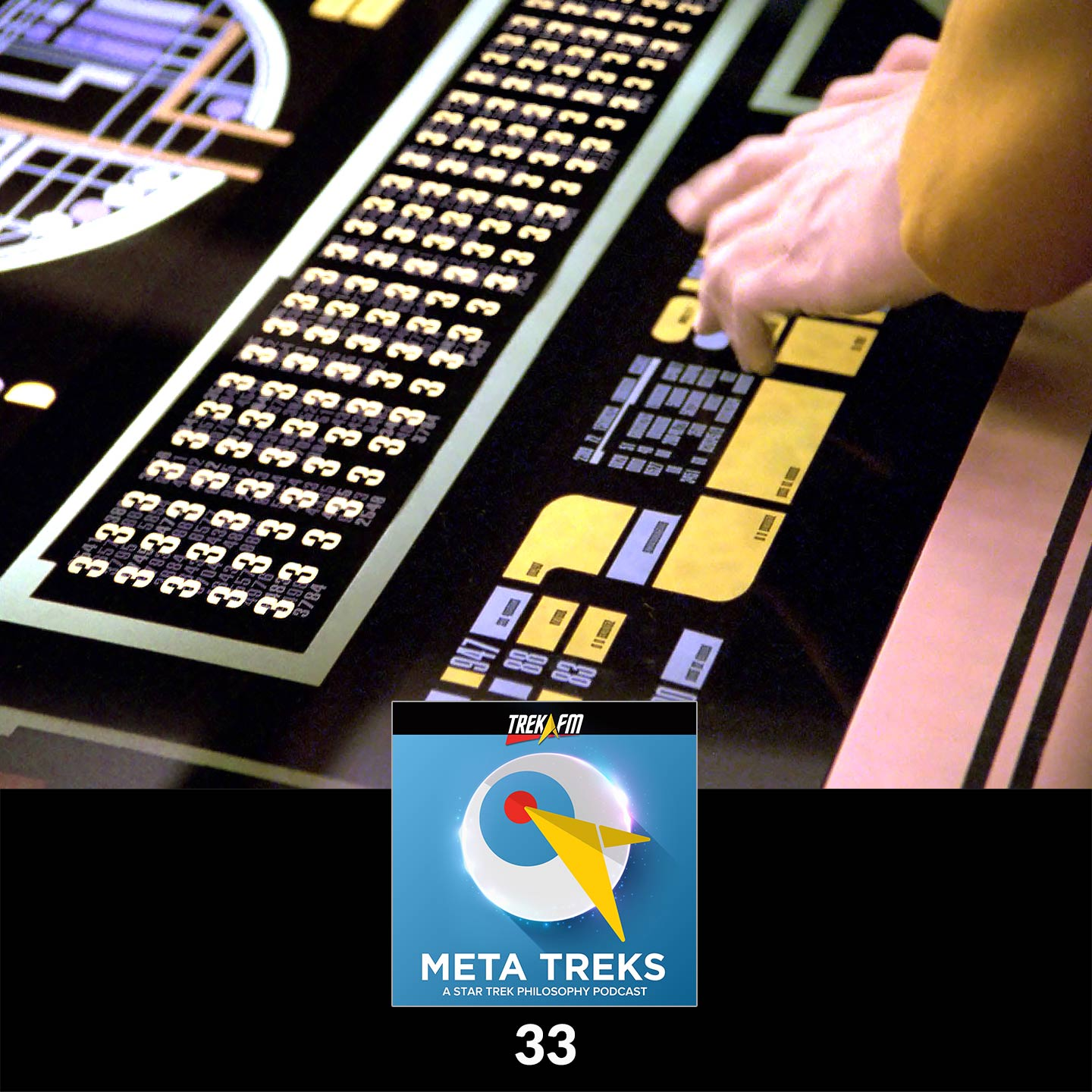 """Meta Treks 33: All Threes - """"Cause and Effect"""" and the Metaphysics of Time."""