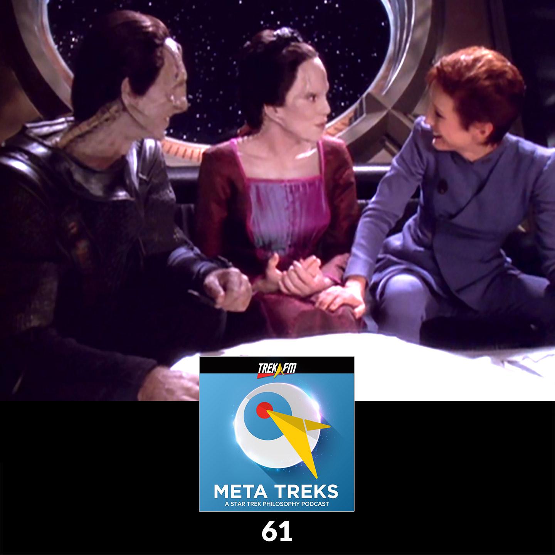 Meta Treks 61: Smooth Operator - DS9 Season 6 - Essential Trek Philosophy with Duncan Barrett, Part 2.
