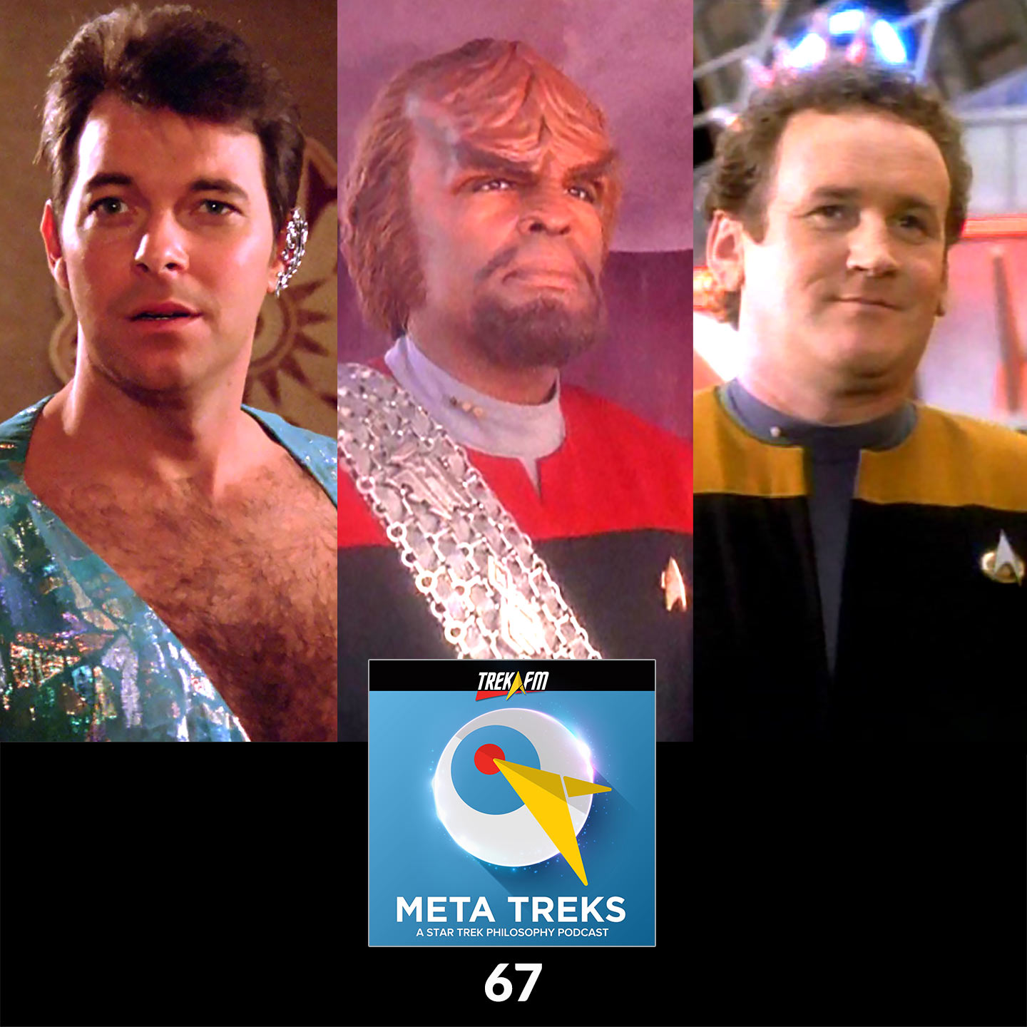 Meta Treks 67: From Riker to Worf to O'Brien - Kierkegaard and Stages on Life's Way.