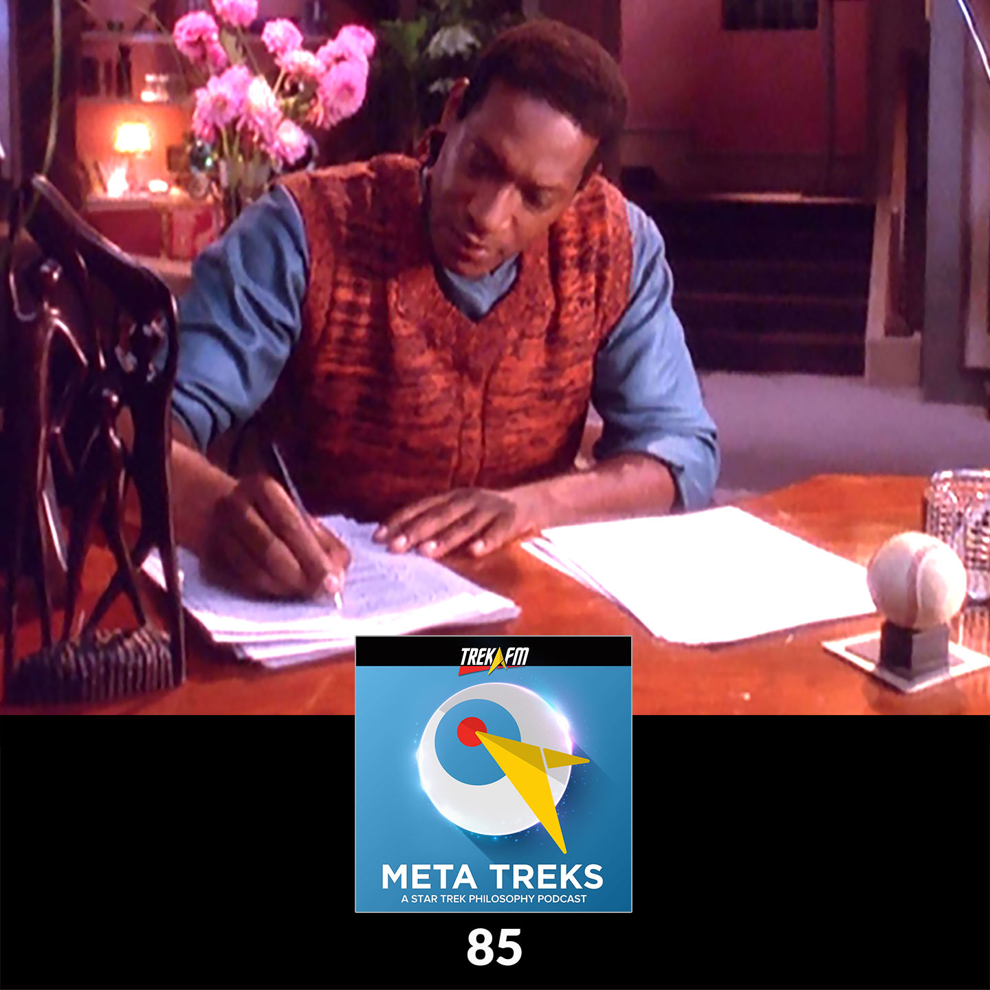 Meta Treks 85: The Pen is Mightier Than the Bat'Leth - The Visitor.