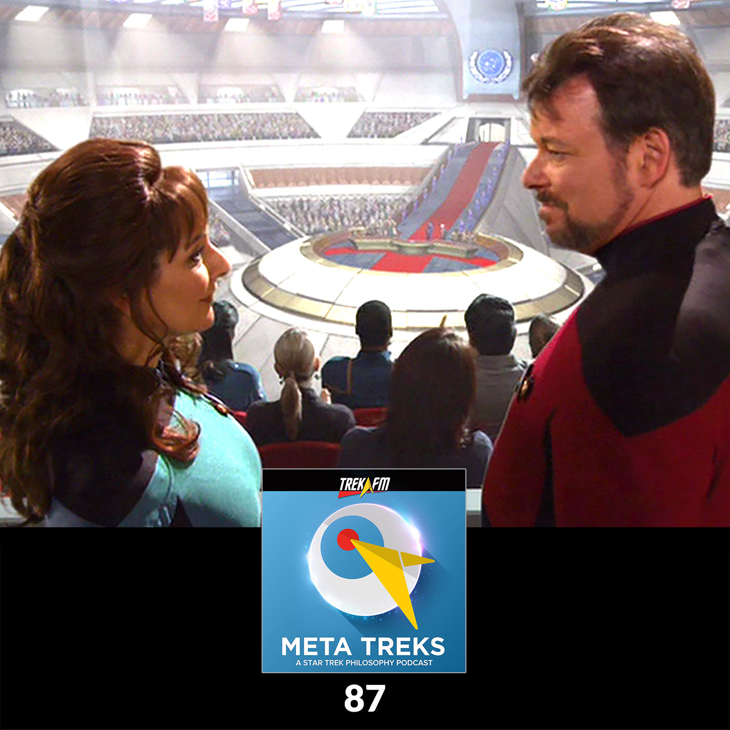 """Meta Treks 87: These Are the Redacted Voyages - Philosophical Themes in """"These Are the Voyages."""""""