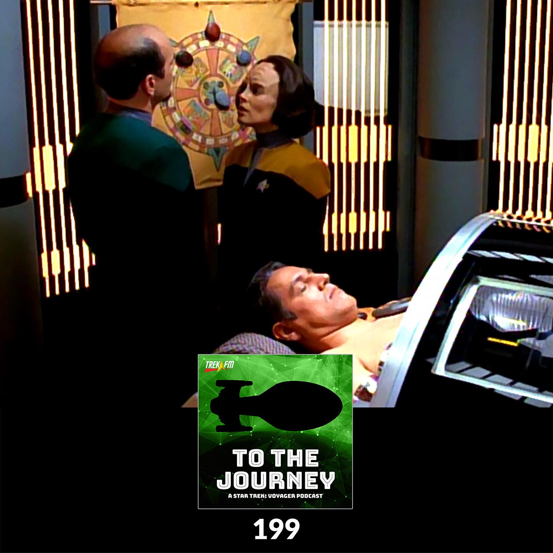 To The Journey 199: Animal Guide Venn Diagram - Top Five Chakotay/B'Elanna Moments.