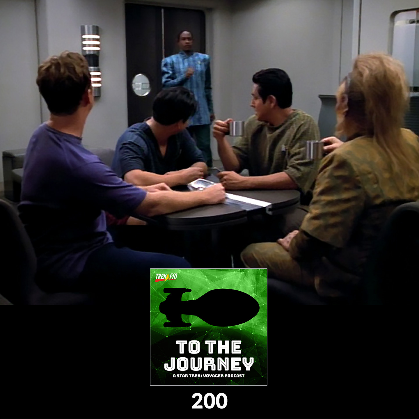 """To The Journey 200: Pon Farr Night at the Playboy Mansion - """"Caretaker"""" and Celebrating 200 Episodes."""