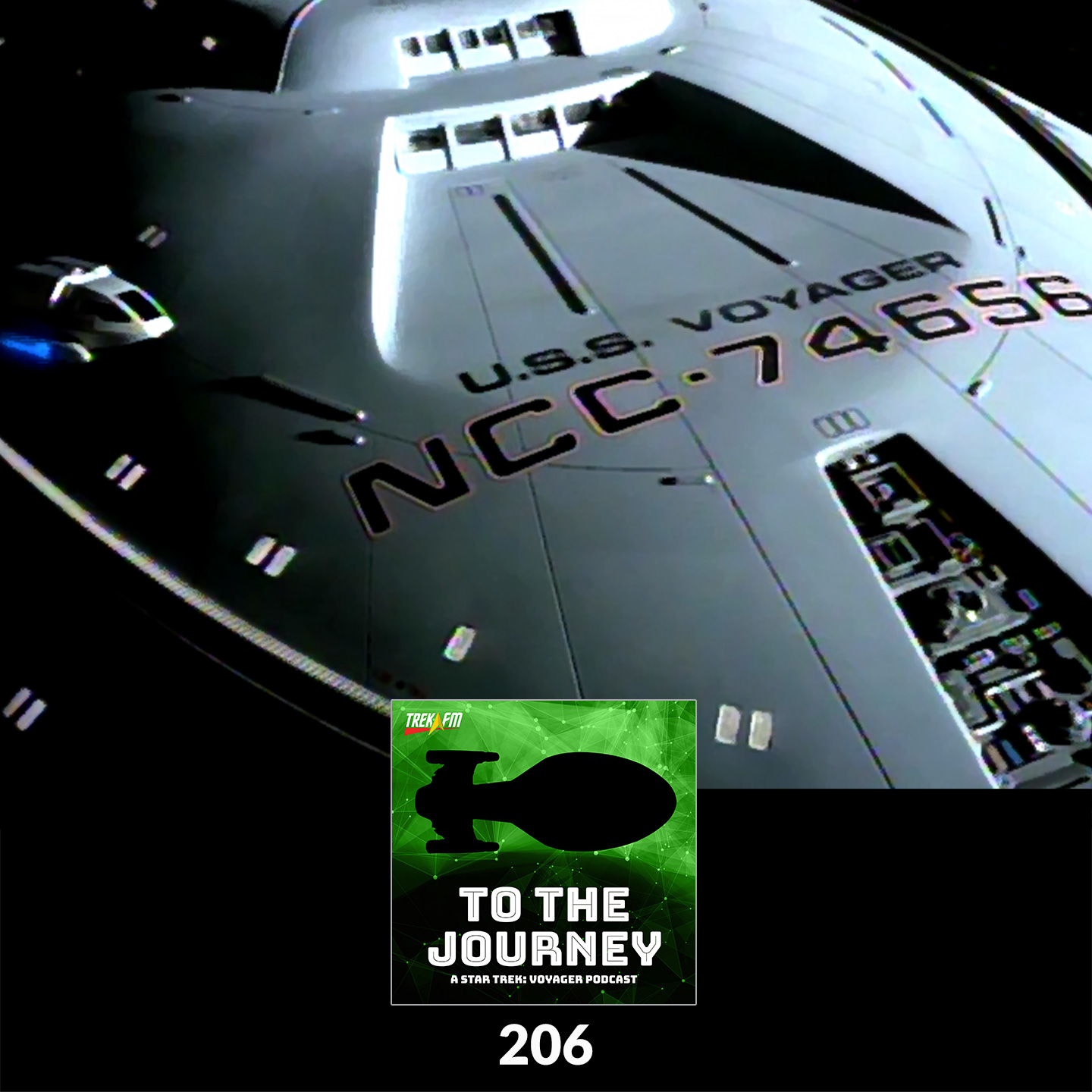 To The Journey 206: U.S.S. Snookums - Voyager: The Ship