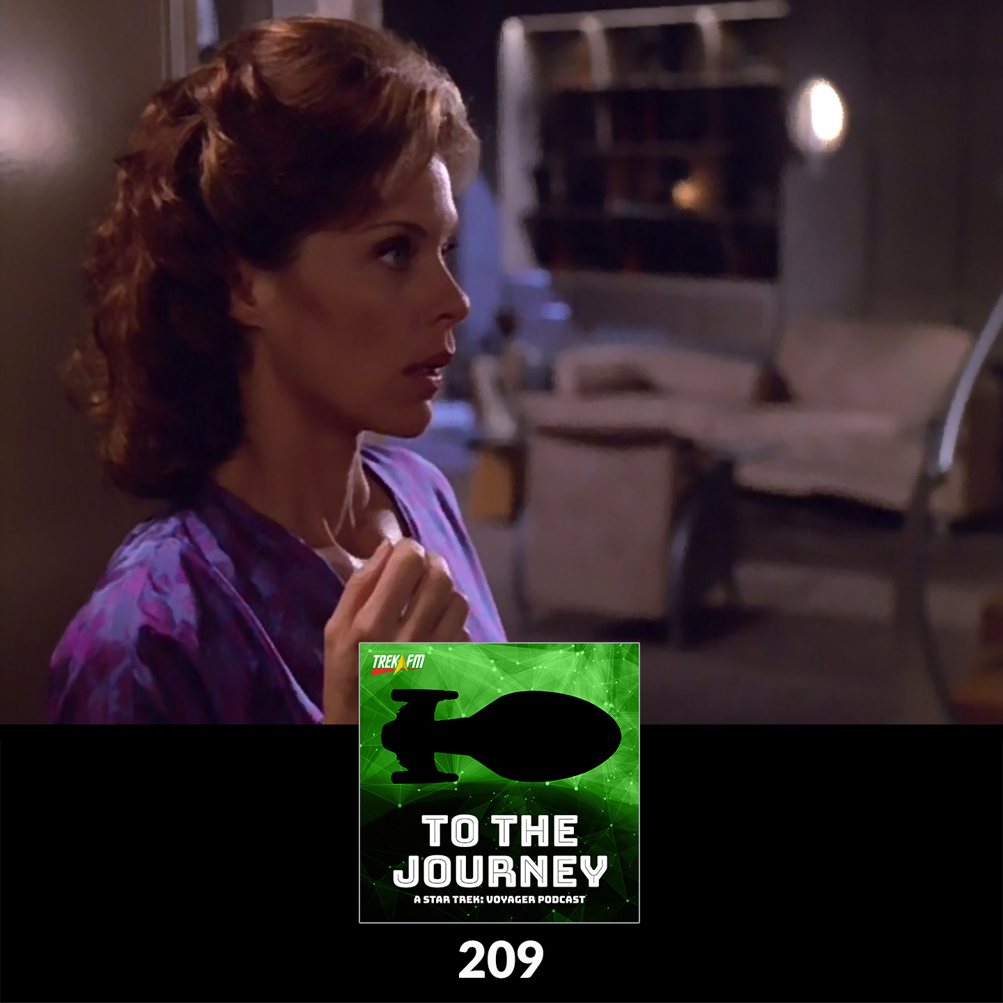 """To The Journey 209: You Know When You've Been Chakotay'd - """"In the Flesh"""" Commentary."""