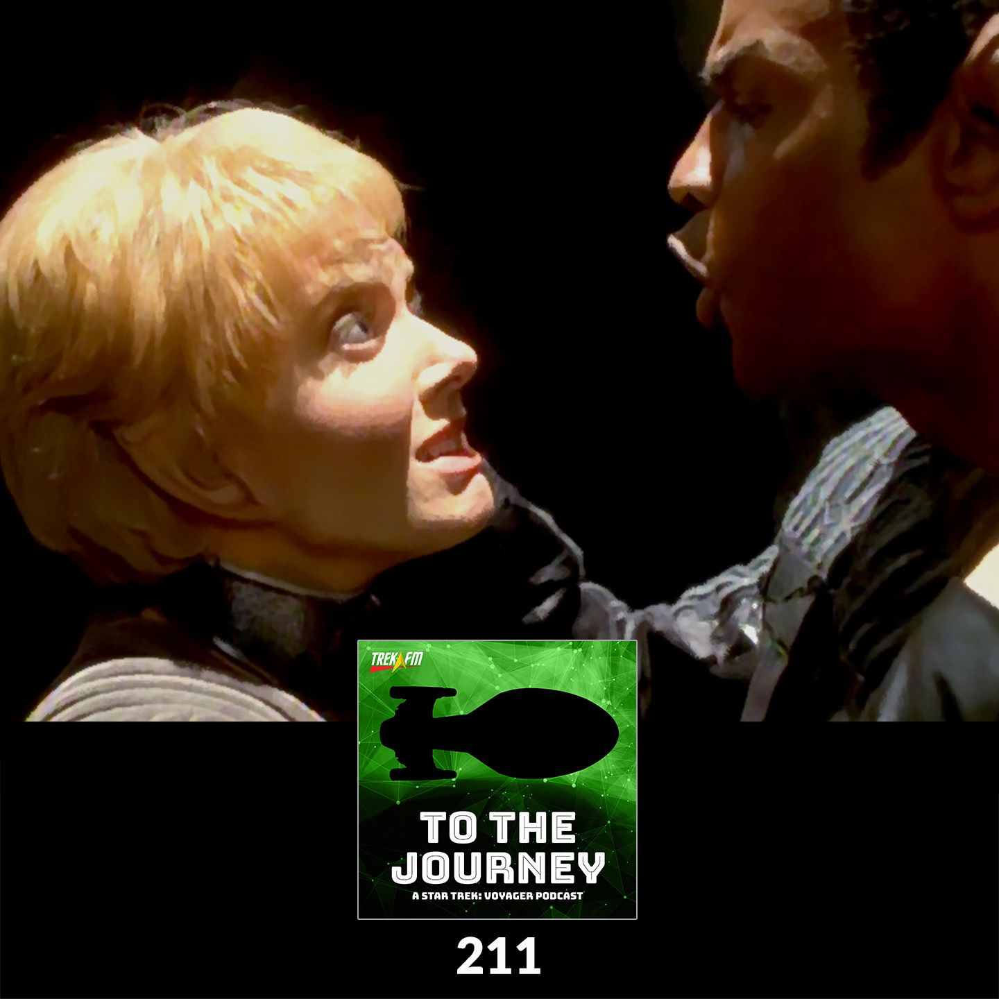 To The Journey 211: It's a Maelstrom - Favorite Kes/Tuvok Moments.