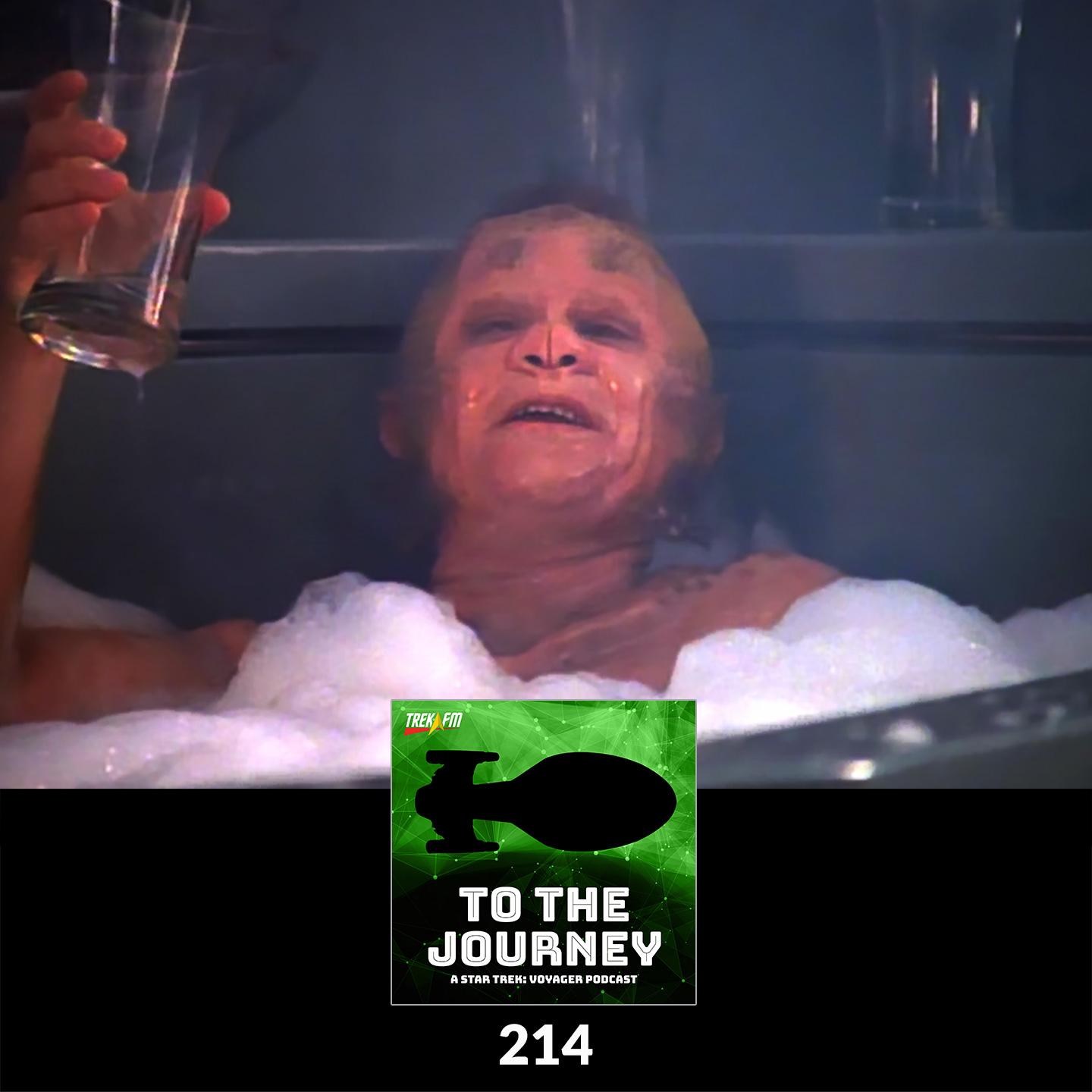 To The Journey 214: The Delaney Rule - Desert Island Episodes - Voyager Season 1.