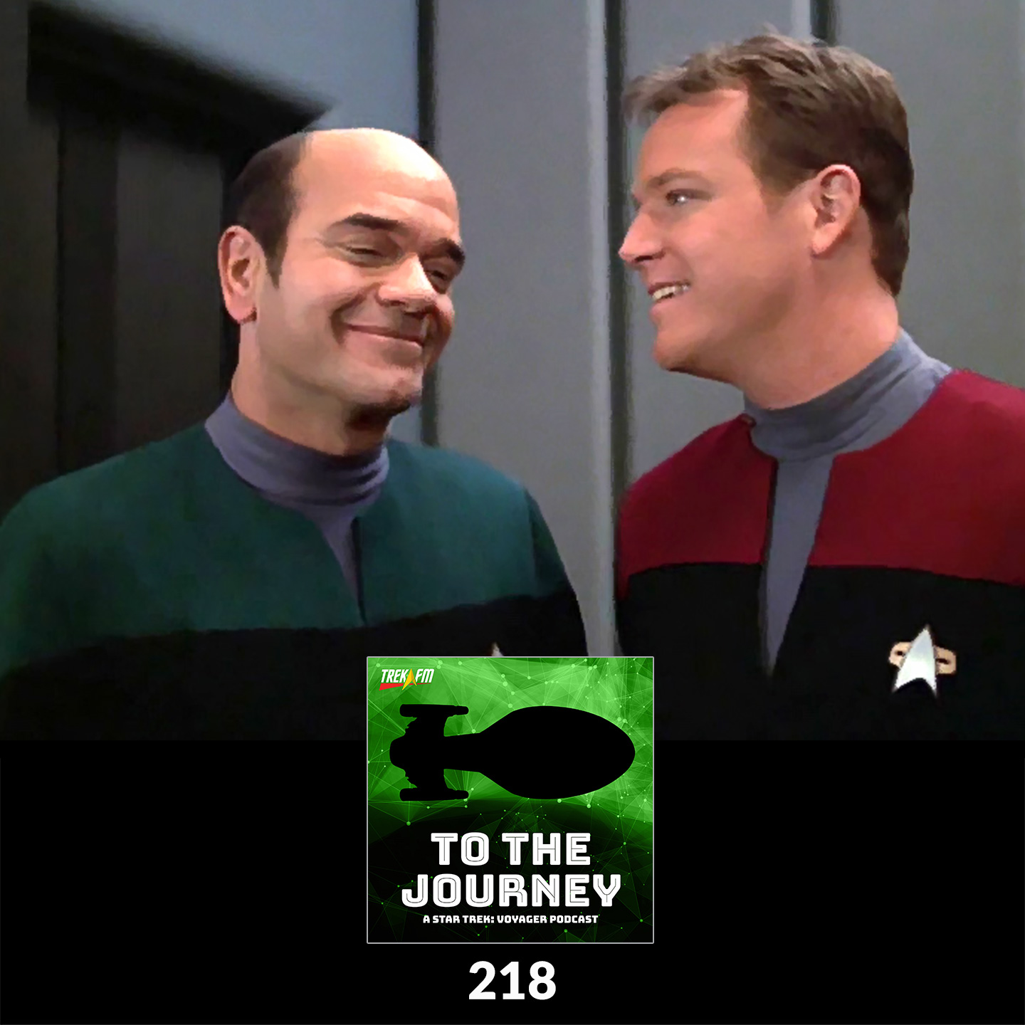To The Journey 218: One Hand on the Joystick - Favorite Tom Paris / EMH Moments.