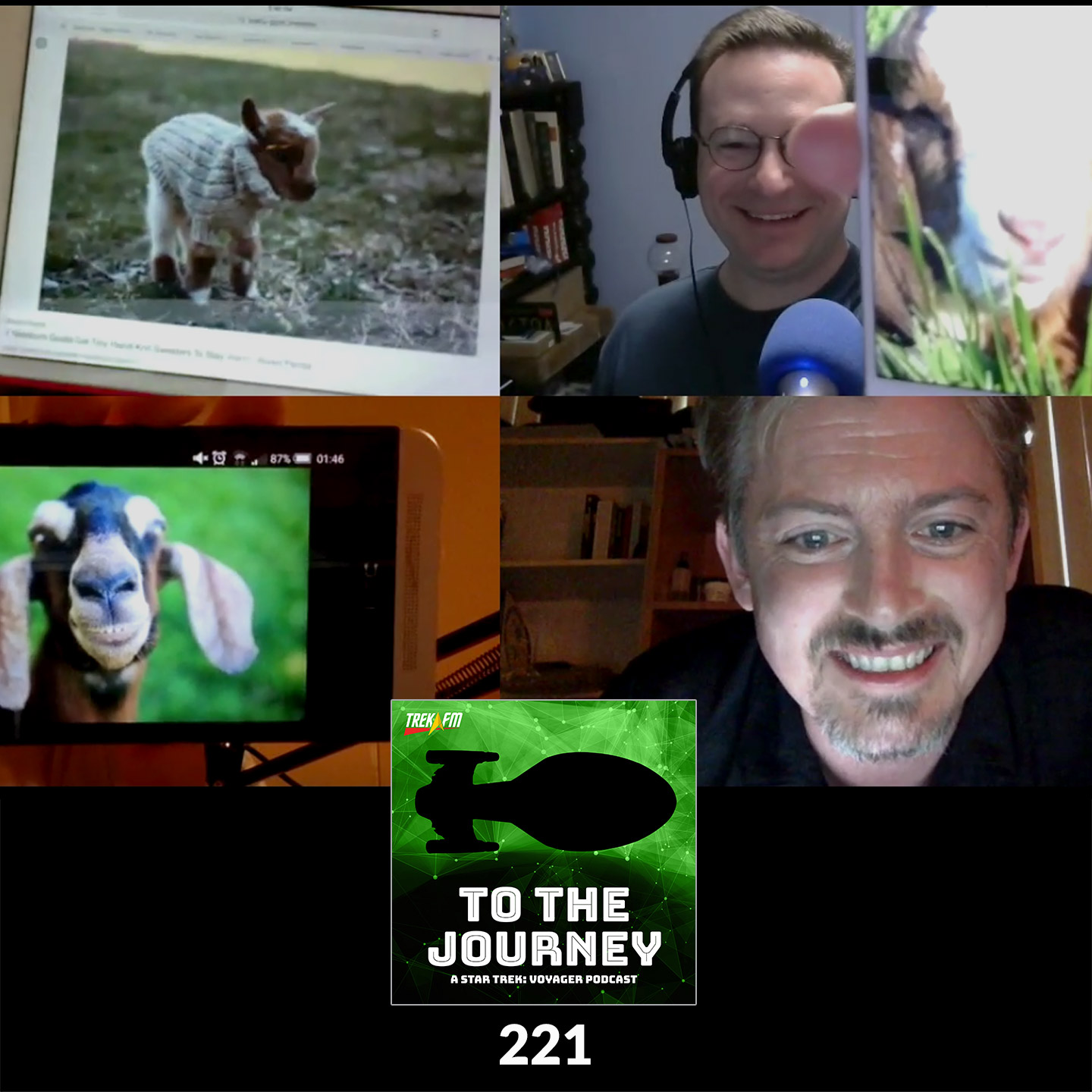 To The Journey 221: Shades of Manu - The Clip Show.