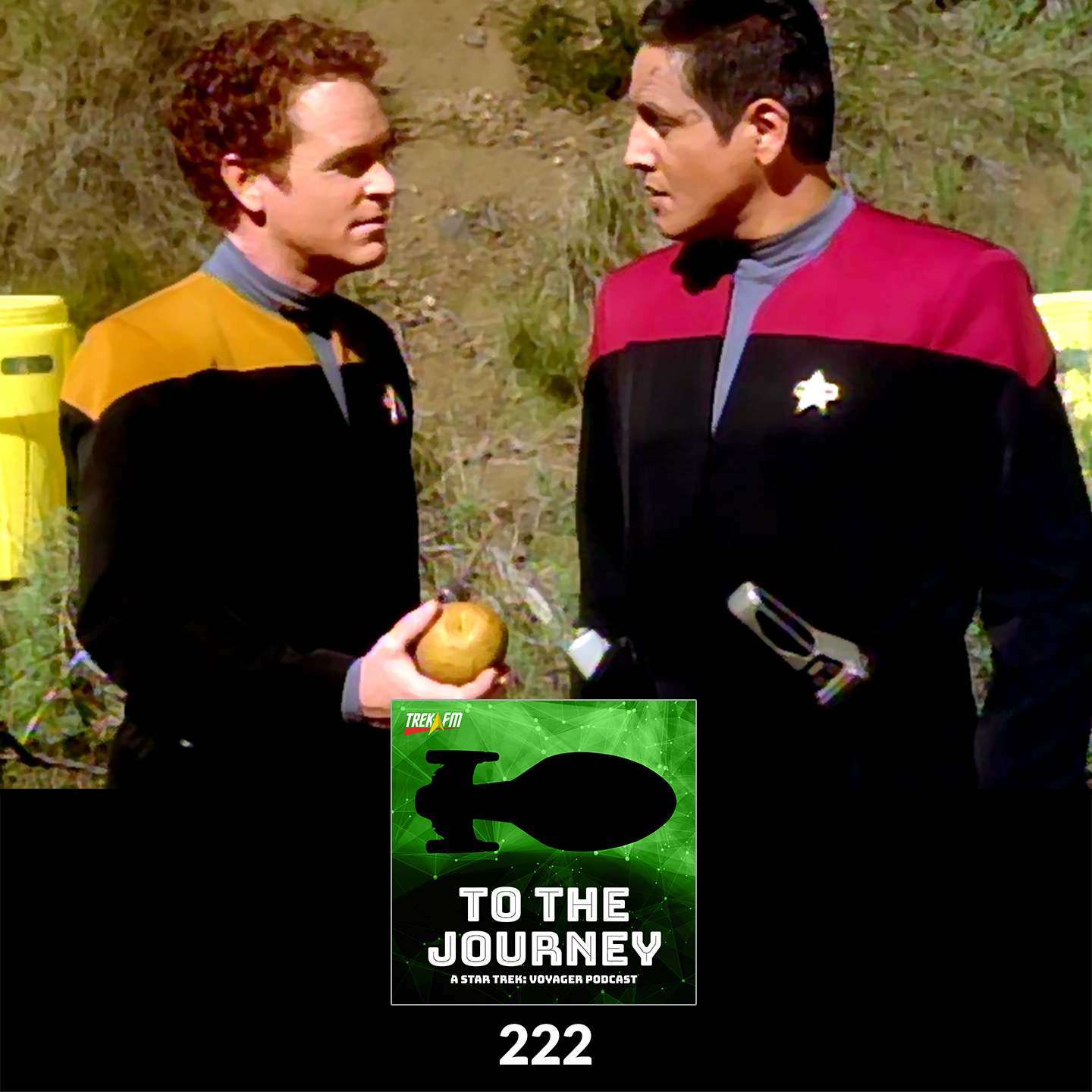 To The Journey 222: Air Quotes Lunch - Lieutenant Carey Character Analysis.