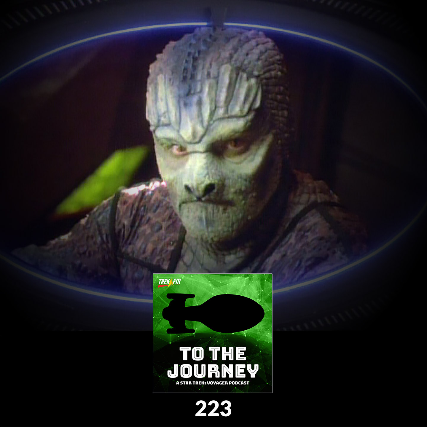 """To The Journey 223: Space Pheasants - The Hirogen (VOY) and the Hunters (DS9: """"Captive Pursuit"""") Comparison."""