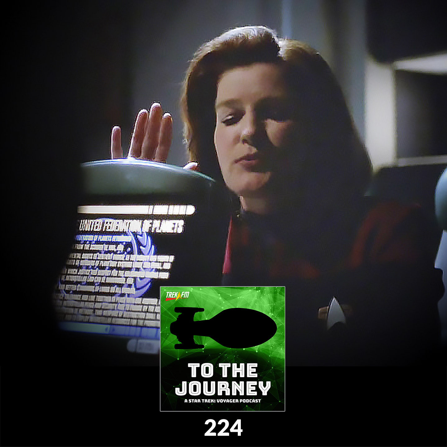 To The Journey 224: The Gospel According to Janeway - The Void.