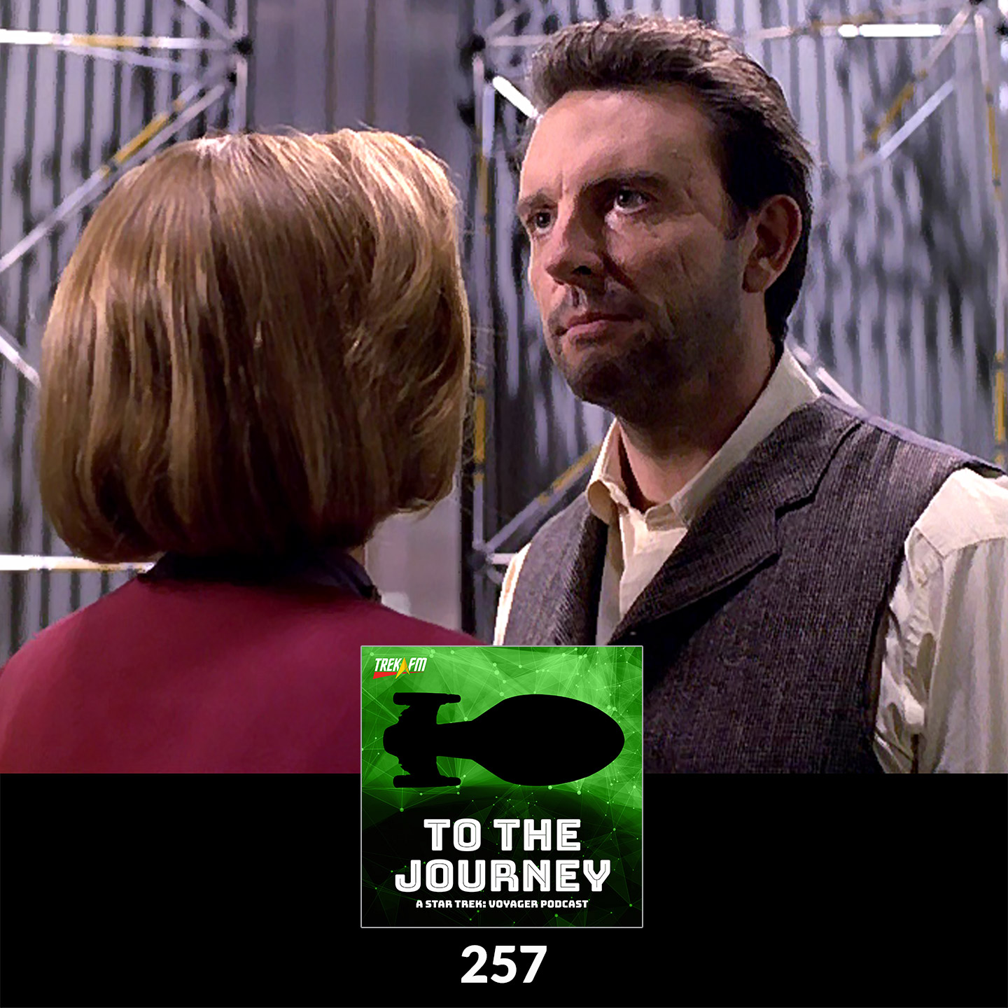 To The Journey 257: BYOC (Build Your Own Chakotay) - Desert Island Episodes - Voyager Season 6.