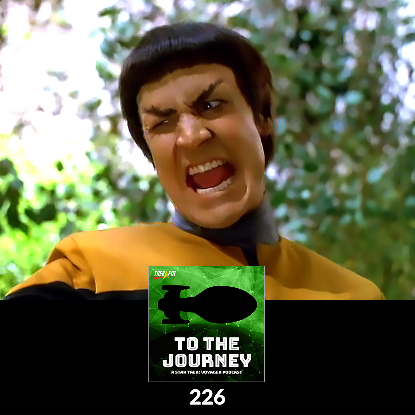To The Journey 226: No Seven-Year Mission - Vorik Character Analysis.