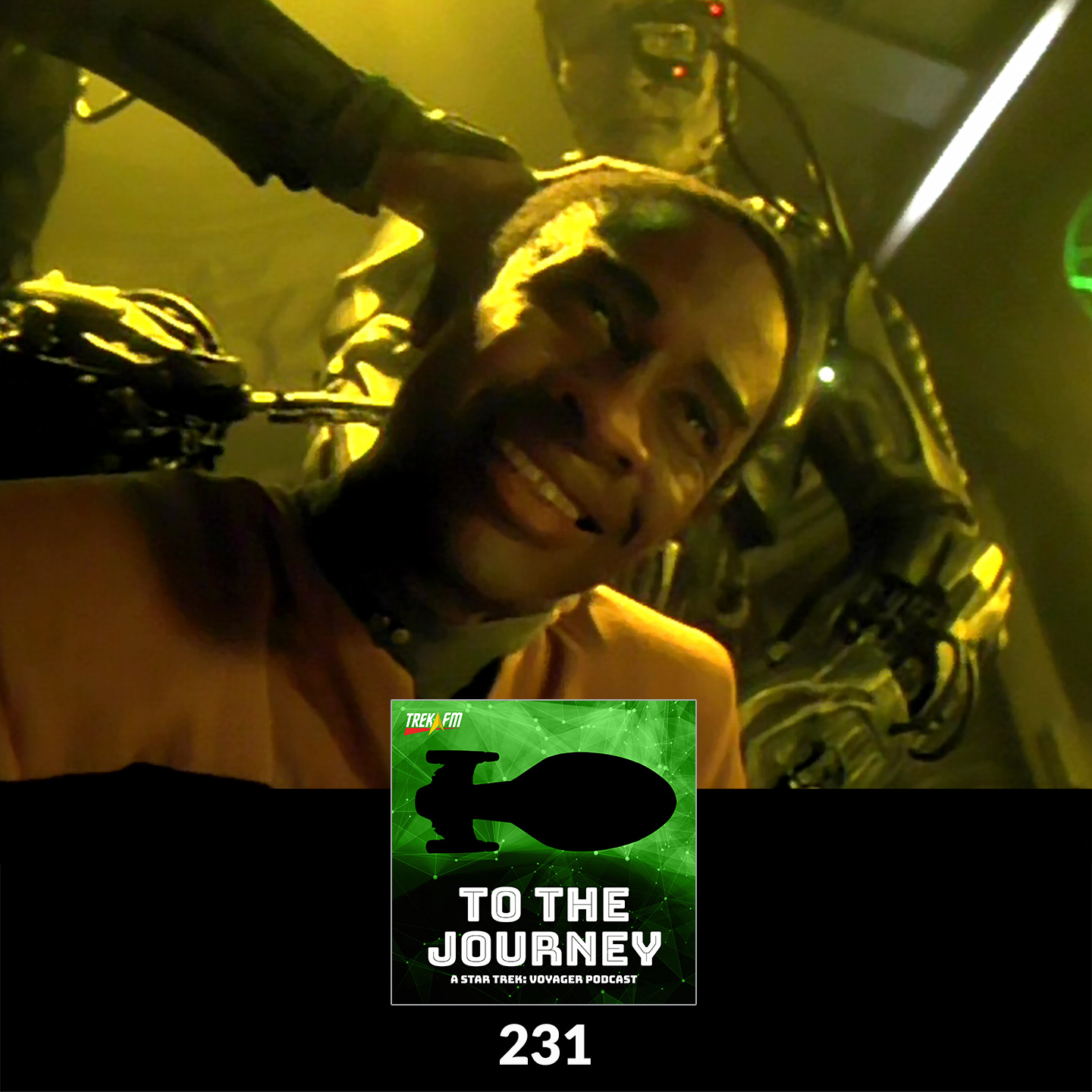 To The Journey 231: Oh Baby, Resistance Is Futile - Spooky Voyager.