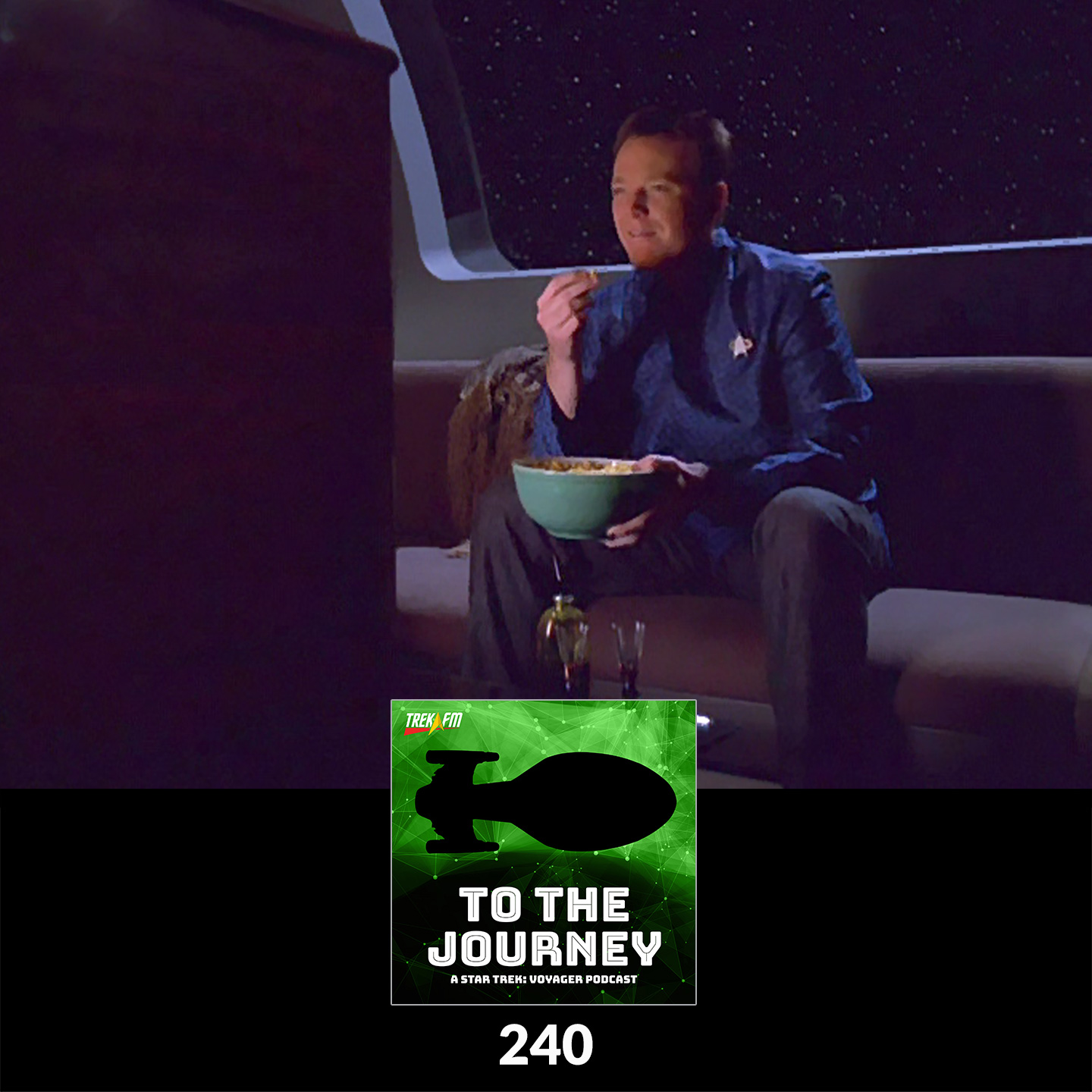 To The Journey 240: Green Shag Carpet - What Voyager Means to Us.
