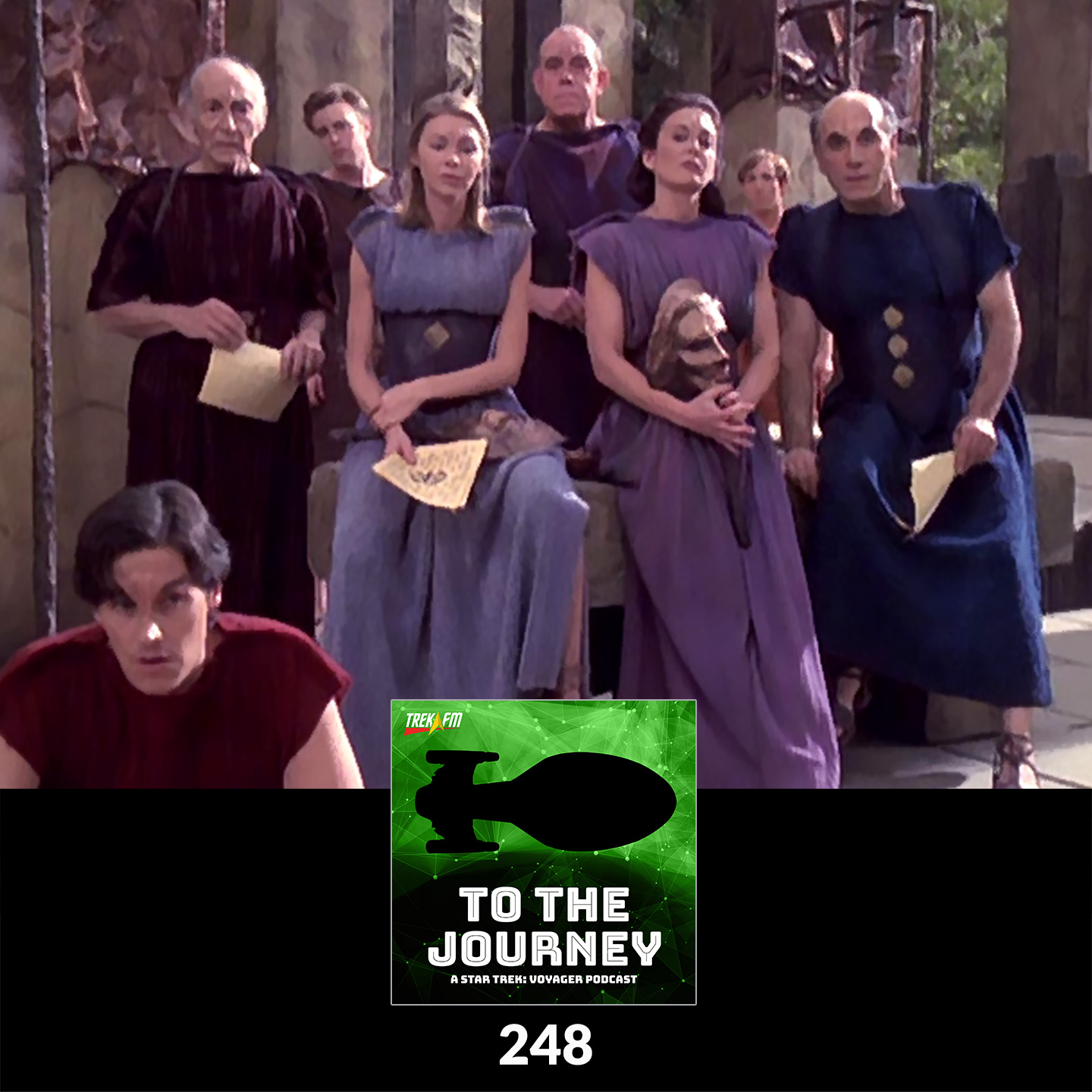 """To The Journey 248: There Shall Be No Peace As Long As Kirk Lives - """"Muse"""" Commentary."""