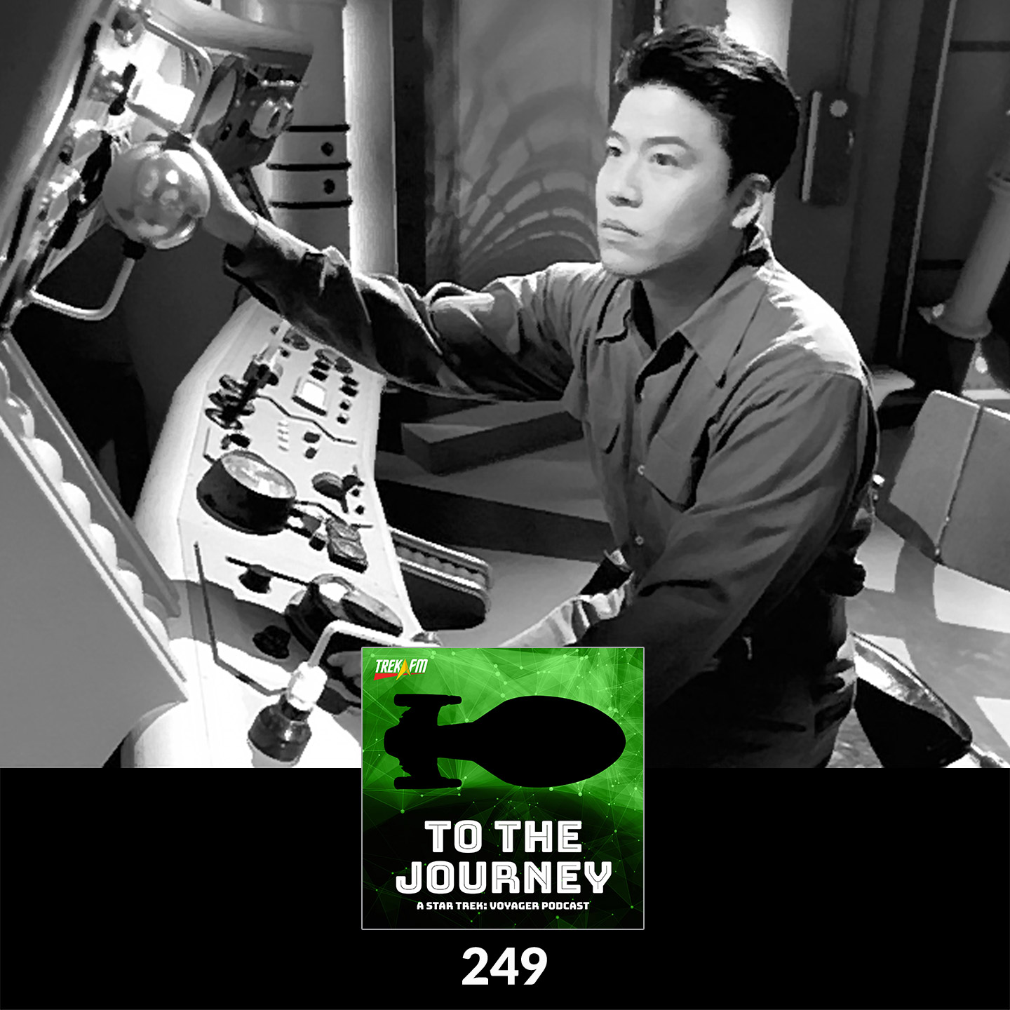 To The Journey 249: Nope, You're Buster Kinkaid - Desert Island Episodes - Voyager Season 5.