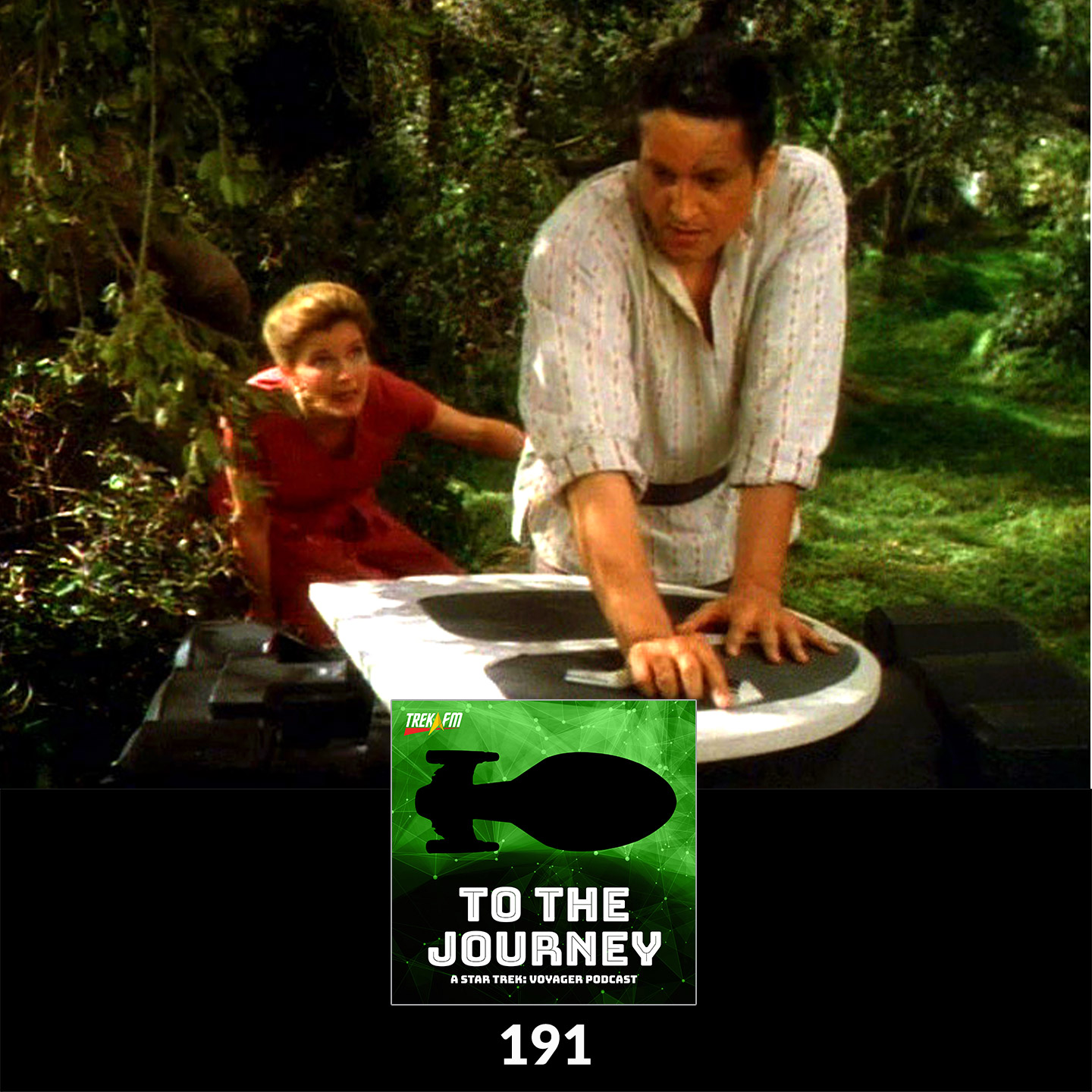 To The Journey 191: Whittling a Shuttle - Voyager Controversies.