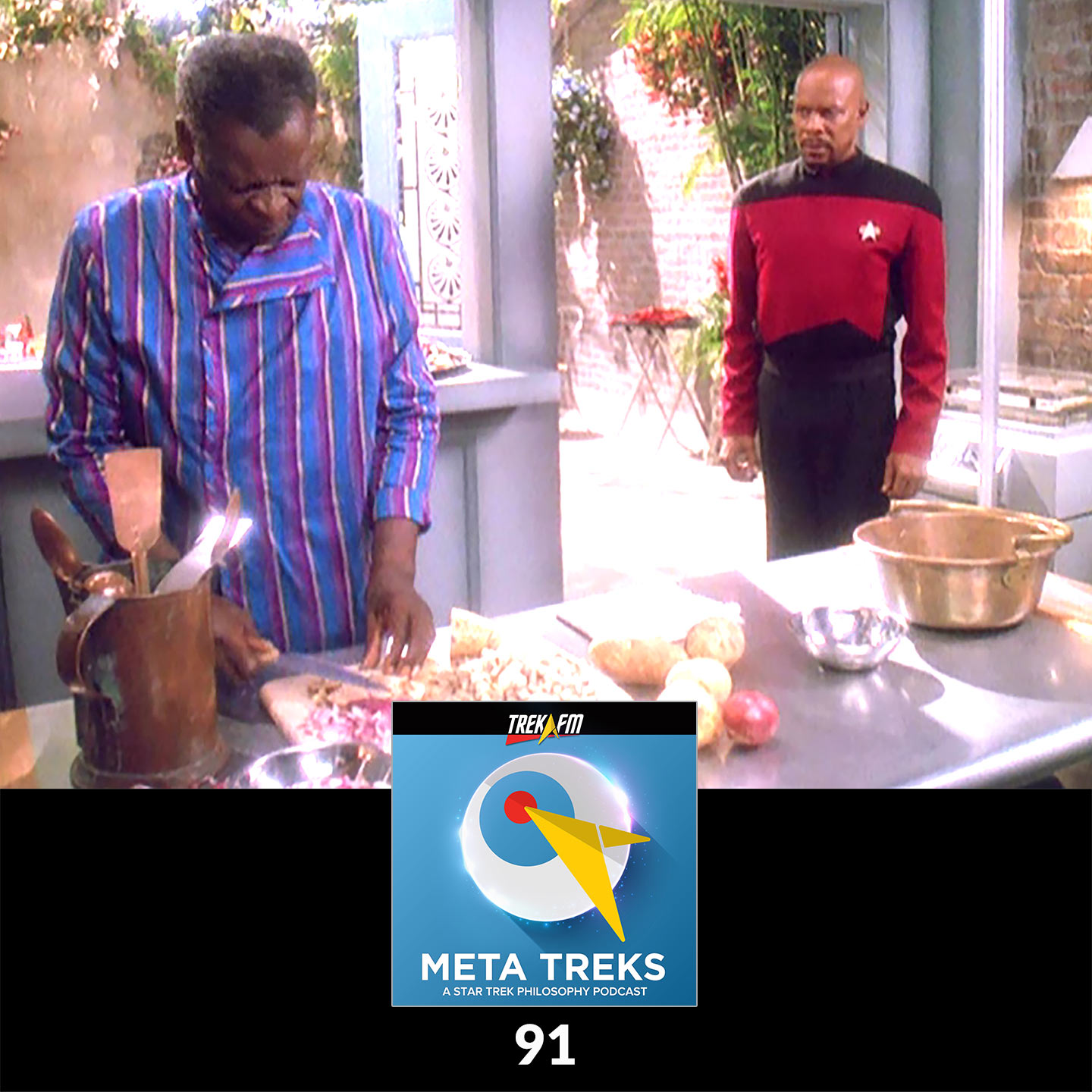 Meta Treks 91: Get That Whale Some Gumbo - Equality and Equal Rights.