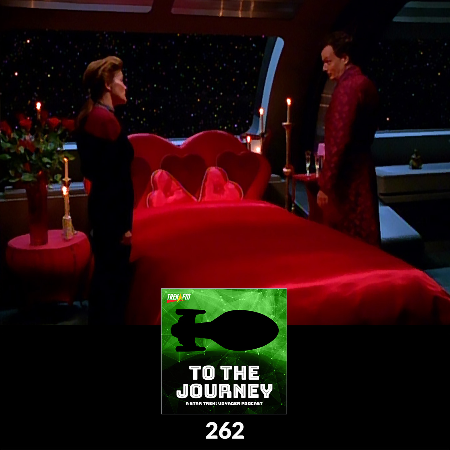 To The Journey 262: It Goes to Eleven - Voyager Romance.
