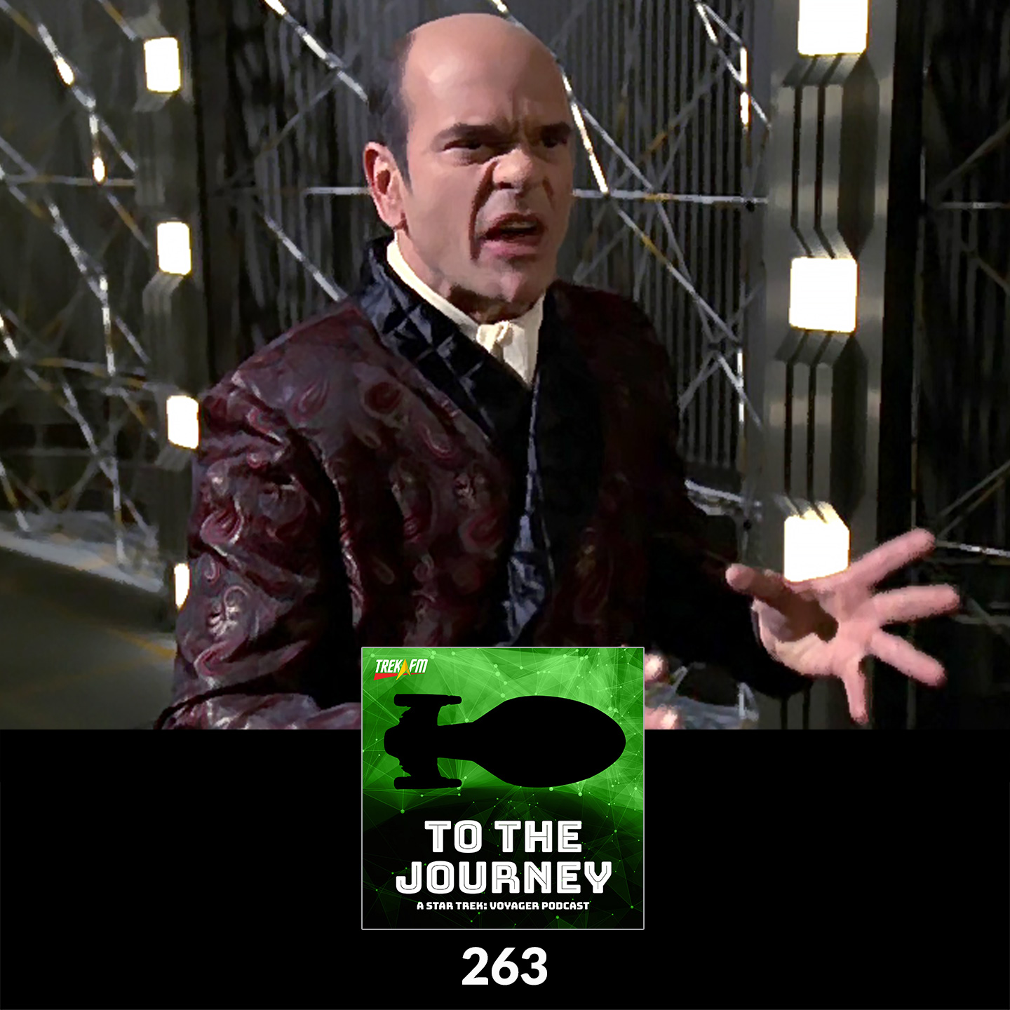 To The Journey 263: Kneel Before Moriarty - Desert Island Episodes - Voyager Season 7.