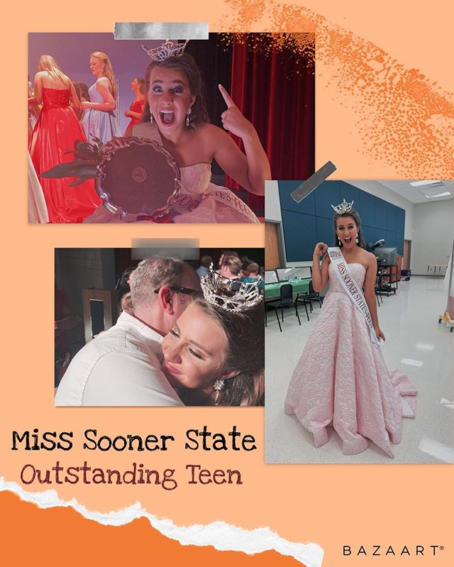 So excited to see what this year as Miss Sooner State's Outstanding Teen will hold! Growing this organization to the next level is first on my list! Let's get together, get out there, and get involved! • • • #teentaskforce #feedthehungry #feedthehomeless #pageant