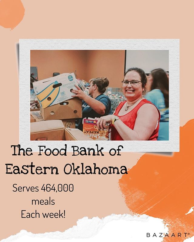 @okfoodbank serves the equivalent of 464,000 meals each week! But they can't do it alone! Join in our monthly visits to the food bank to help out in the endeavor of making Oklahoma a hunger free state! • • • #foodbankfun #teentaskforce #feedthehungry #feedthehomeless #feedoklahoma