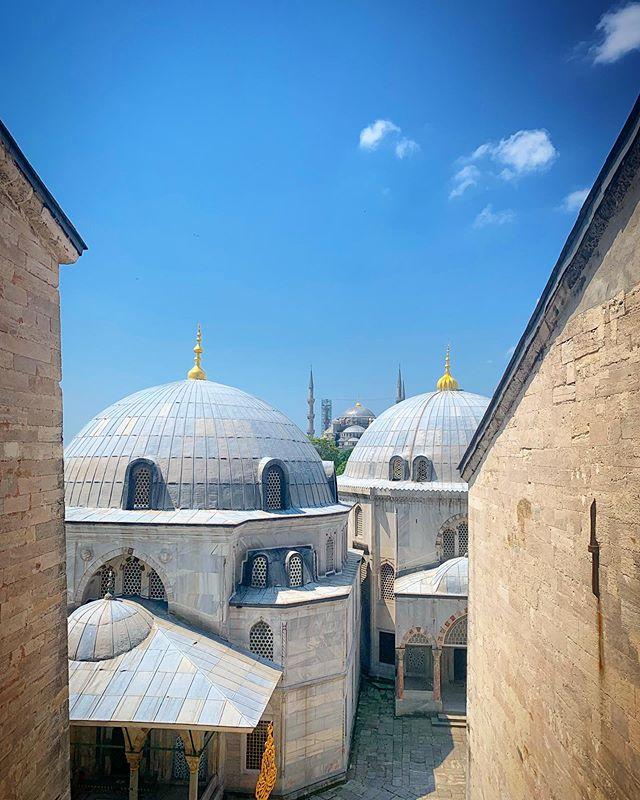 Beautiful #istanbul #hagiasophia