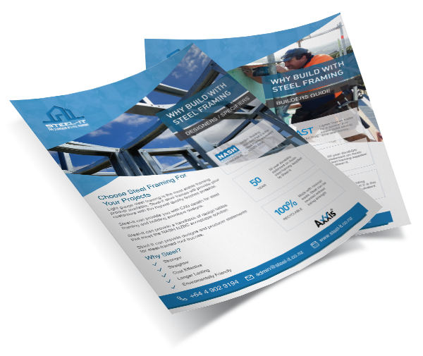 Free Designer & Specifier Guide to Building with Steel-It -