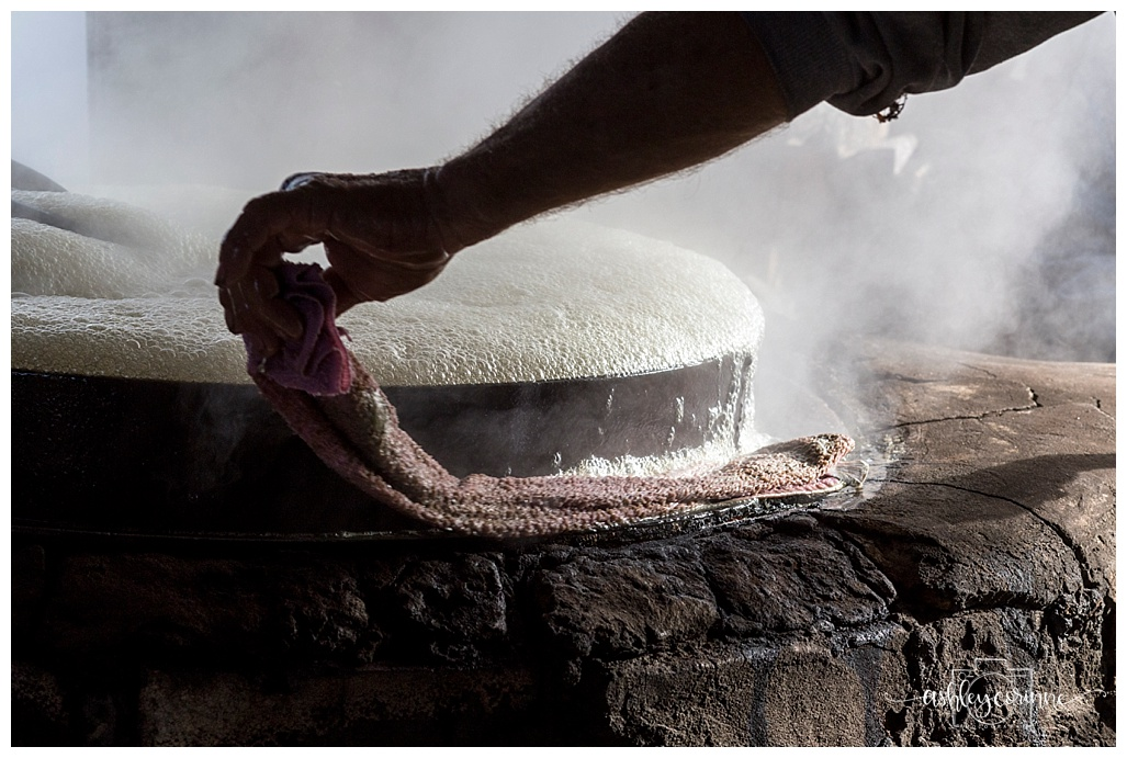 Wiping Foam - A Florida Cane Grinding - Ashley Corinne Photography