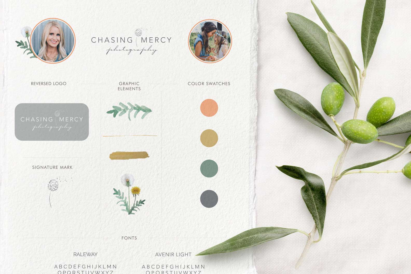 Natalie Lauren Design | Chasing Mercy Style Guide