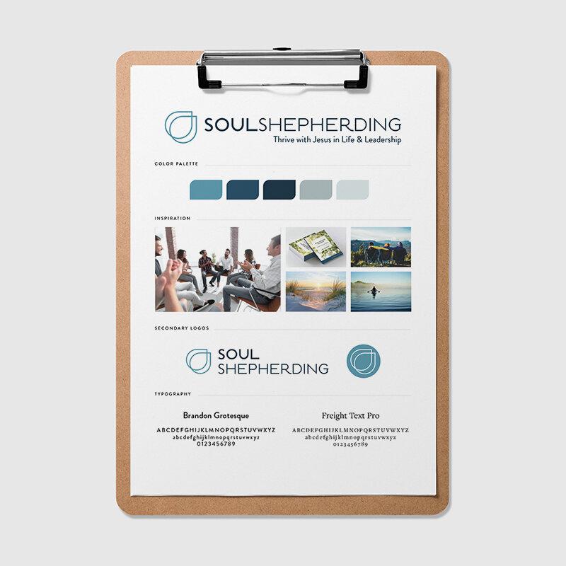Soul Shepherding Style Guide | Natalie Lauren Design