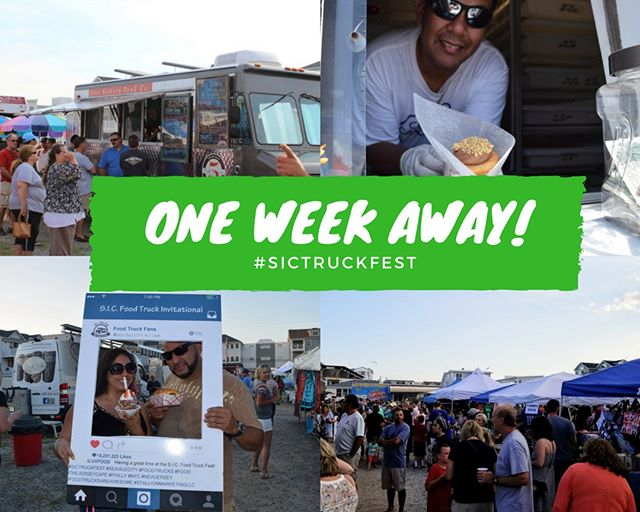 Next week at this time we open! #sictruckfest #foodtruck #foodie #njisntboring #nj #southjersey #newjersey #southjerseyadventures #seaislecity #jerseycape #njsouthernshore