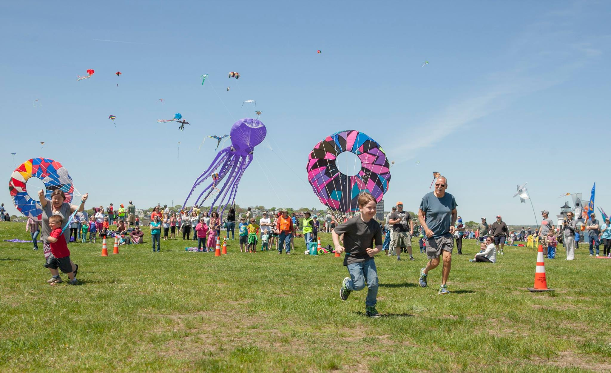 Annually, many events take place in Bug Light park, from the Bug Light 5k to the Kite Festival