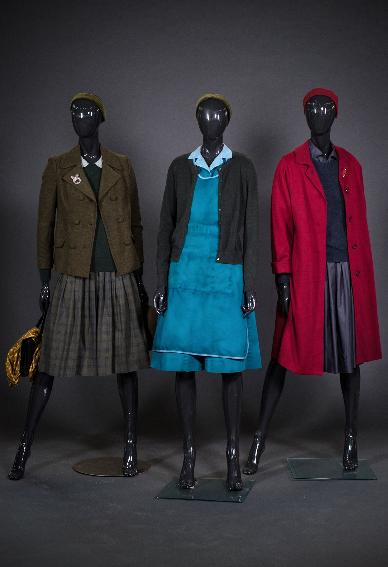 Costumes from The Shape of Water, by Costume Designer Luis Sequeira (Photo credit: Nick Wons Photography)