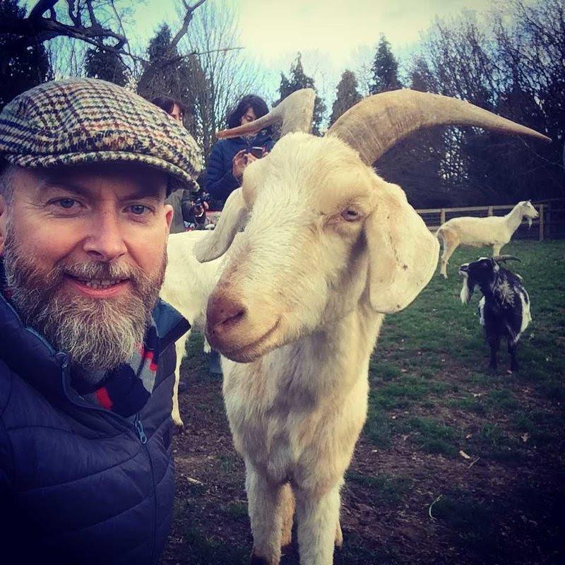 See? Goats lo-o-o-o-o-o-ove smiles.