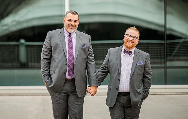 Yoooooo! Wedding Pros, let's hang out! @radbusinessco is offering a limited number of personalized LGBTQ+ Business Audits to help you pivot your business practices to be more affirming and cozy for the queer community. . Wondering if you could use a boost up? Send me a DM! I'd love to chat about what this audit could do for you and your business. . Love you, friend. (Just like I love these former clients of ours, Joe and John from their fun AF Knoxville wedding. 🥳😭💖) . Photo by @brasspennyphotography