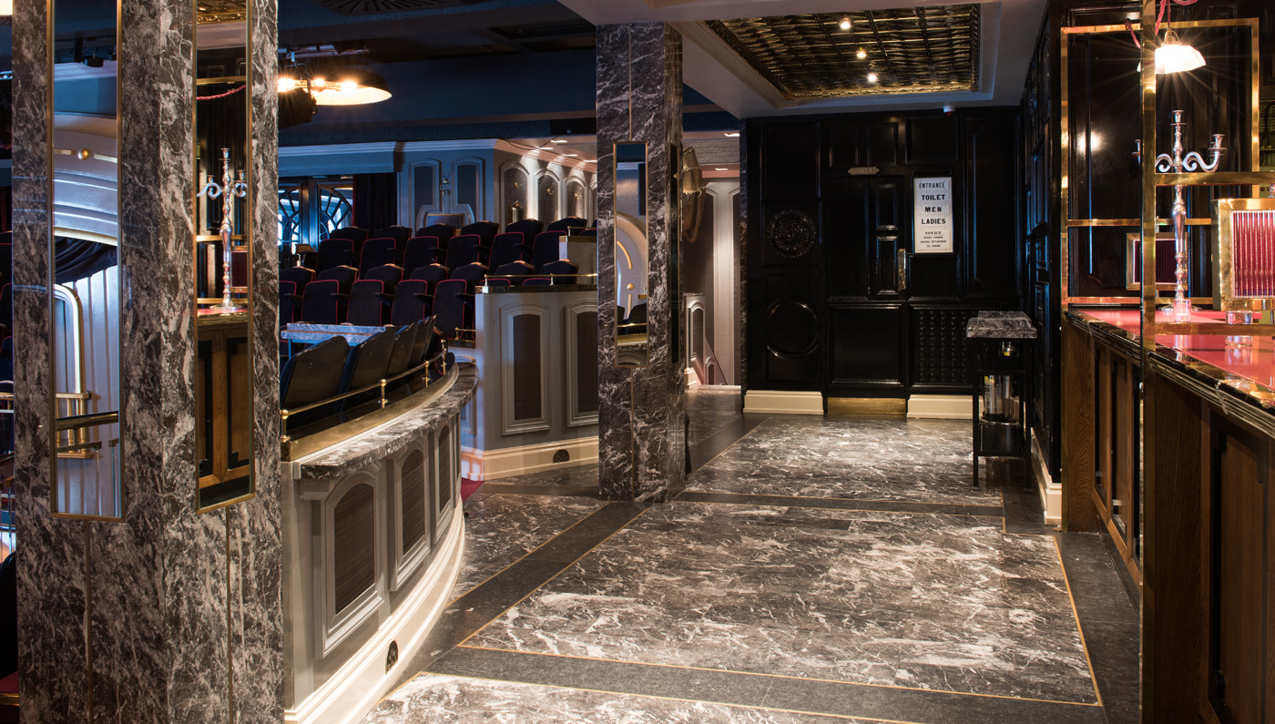 SET Theatre - Marble & Design Work
