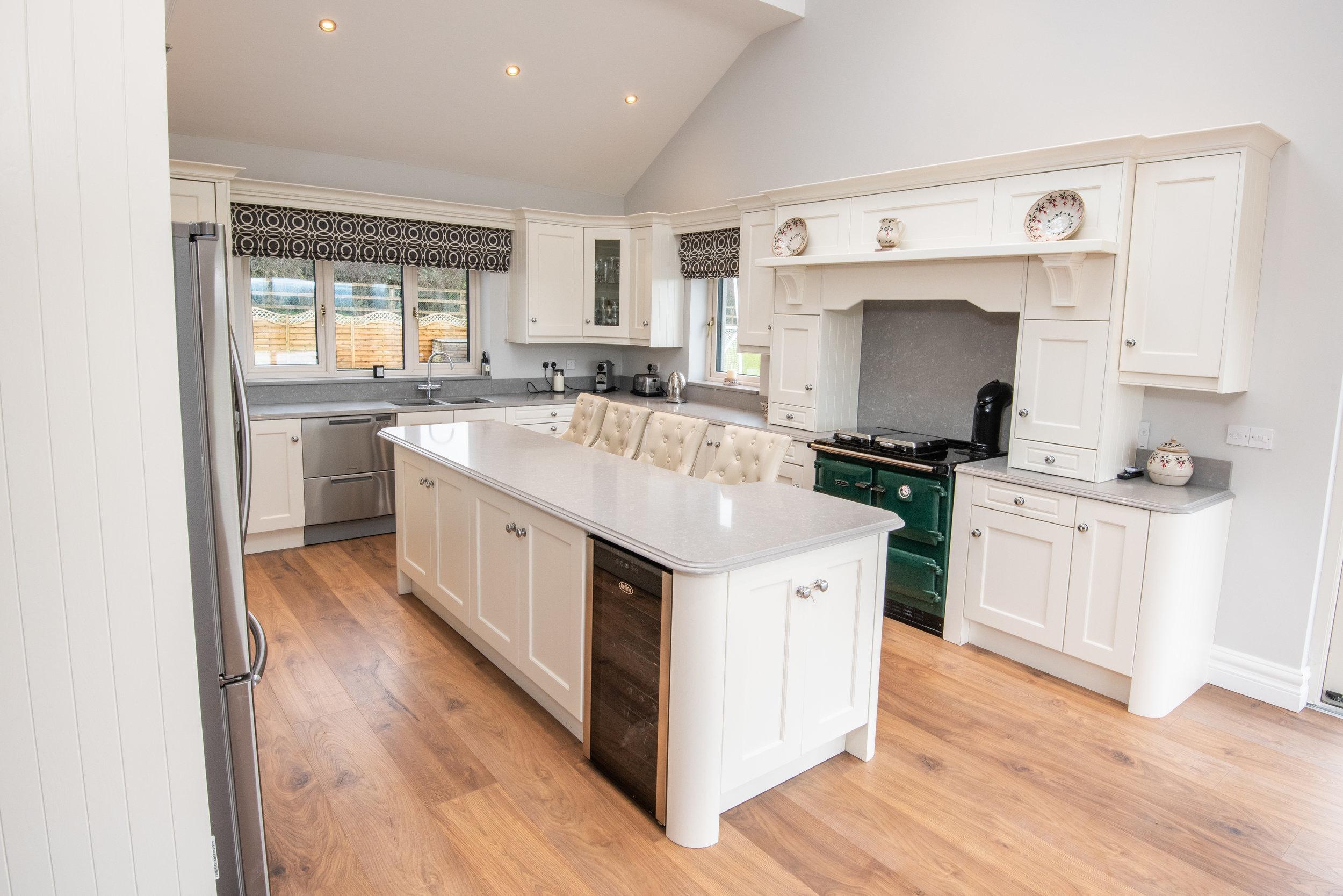 Tundra Kitchen - Quartzstone kitchen