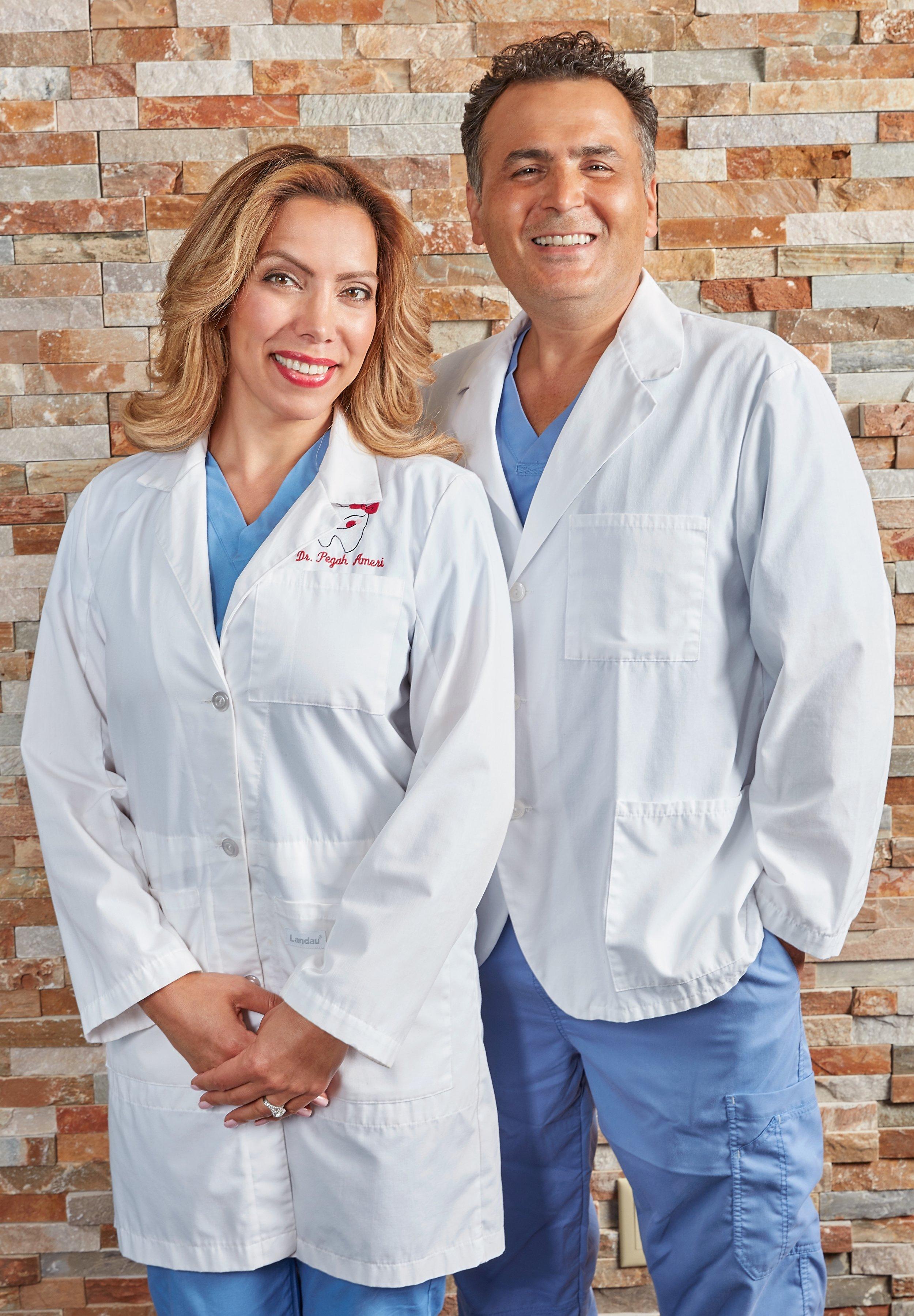 Dr. Shahram Lashgari & Dr. Pegah Ameri |Credit: Photography by Eric Garcia-March